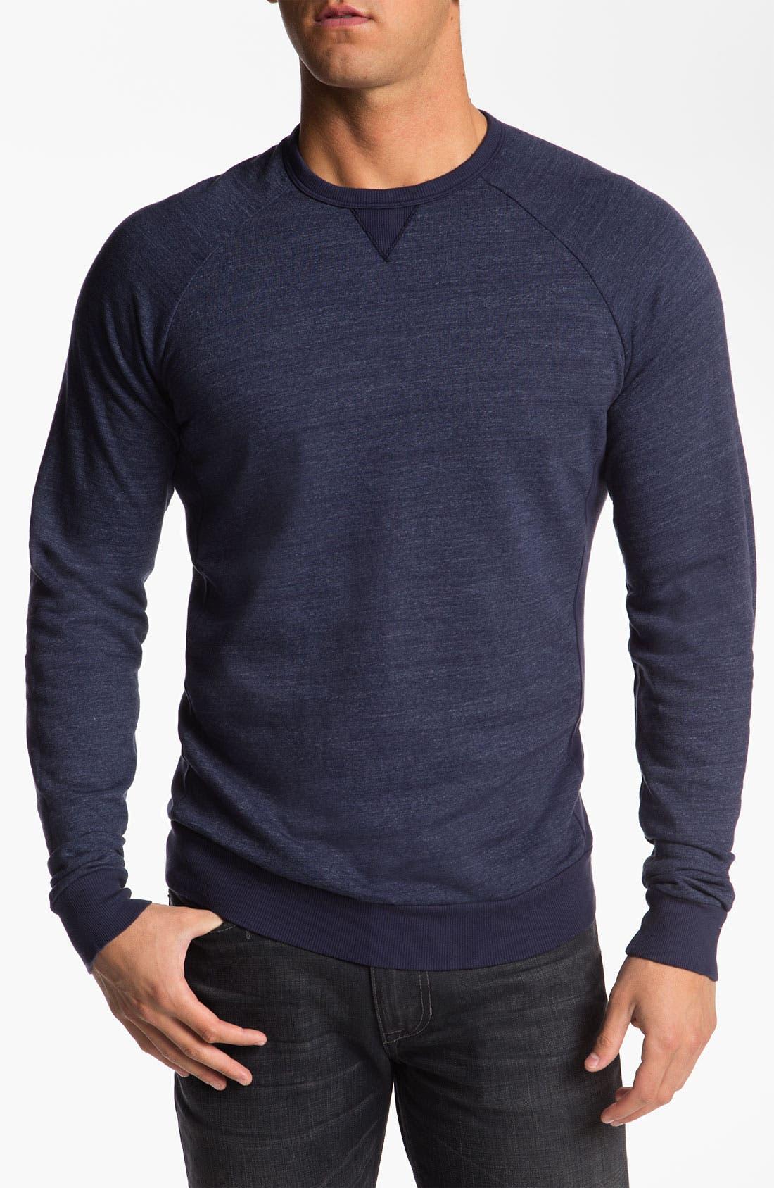 Main Image - Splendid Mills 'Brody' Crewneck Sweatshirt