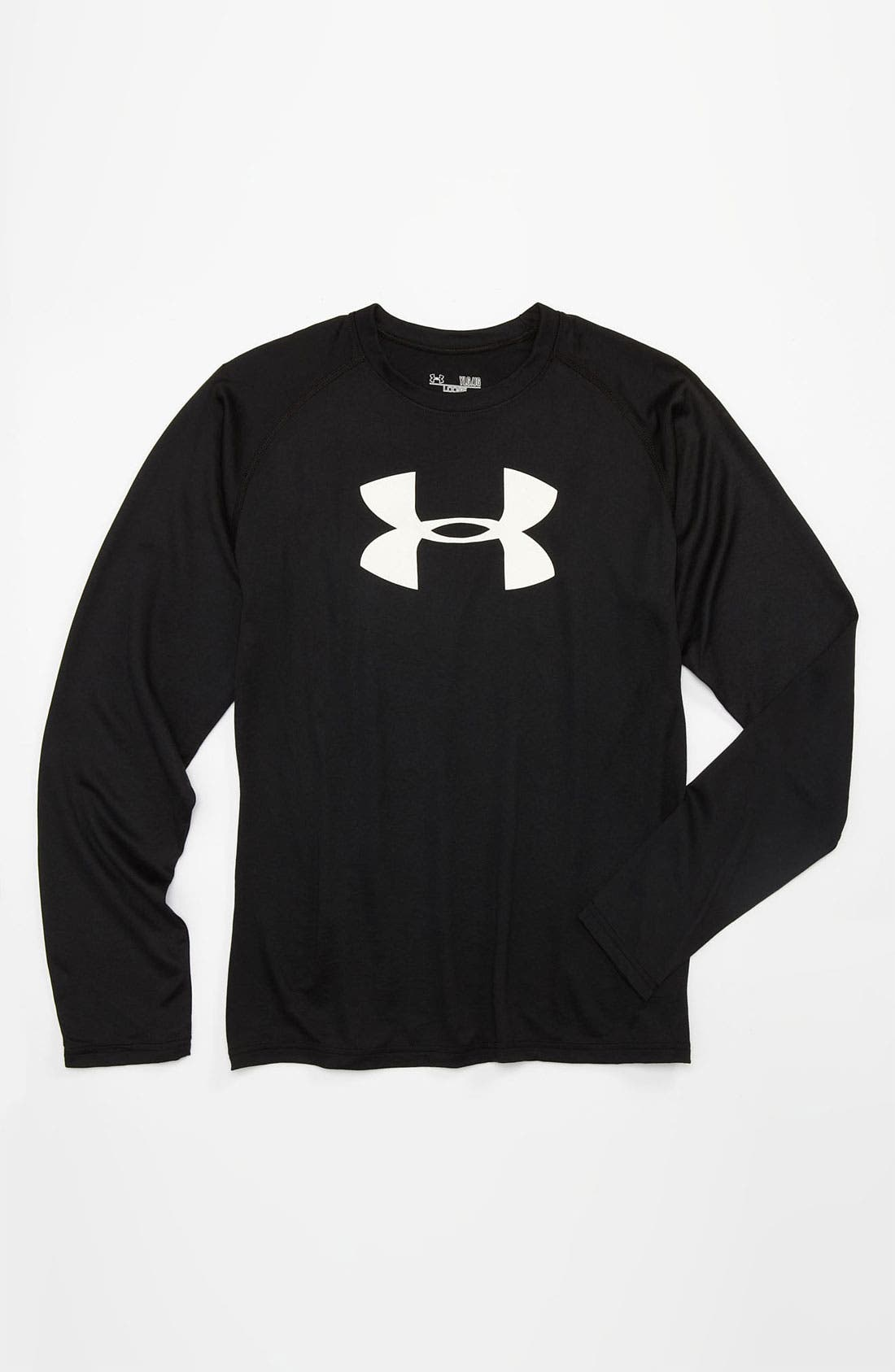 Alternate Image 1 Selected - Under Armour Logo T-Shirt (Big Boys)