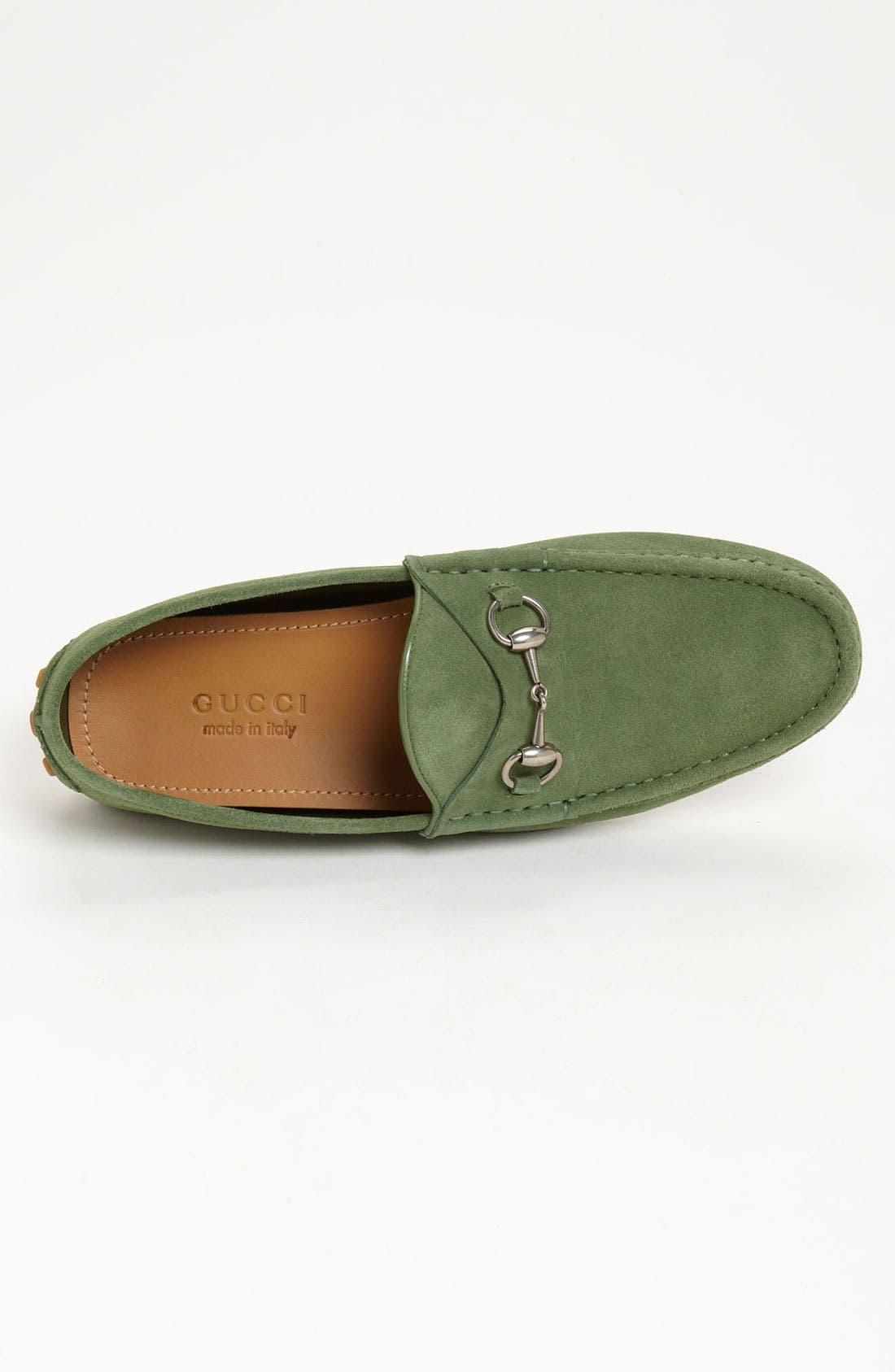 Alternate Image 3  - Gucci 'Damo' Suede Driving Shoe