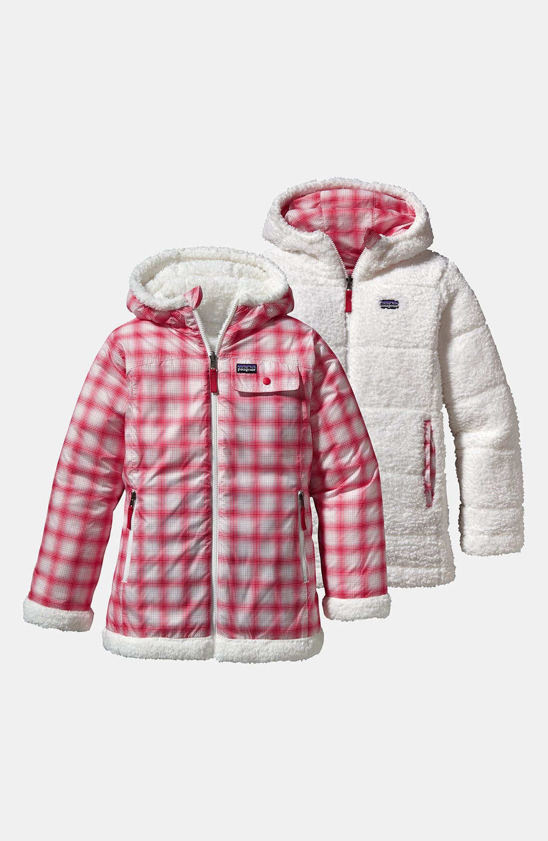 Alternate Image 1 Selected - Patagonia 'Dynamite Duo' Jacket (Little Girls & Big Girls)