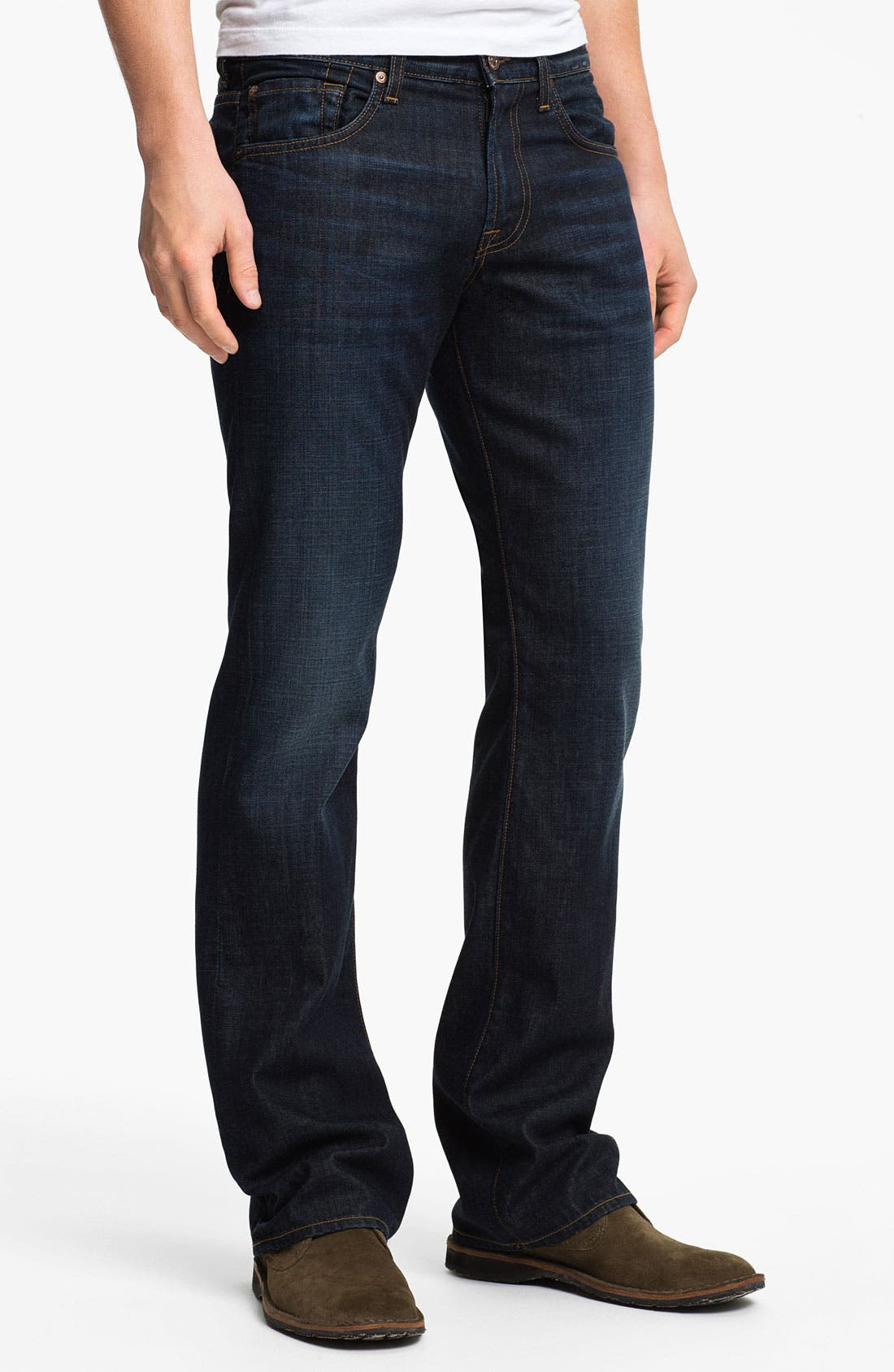 Alternate Image 2  - 7 For All Mankind® 'Brett' Bootcut Jeans (Hollenbeck)