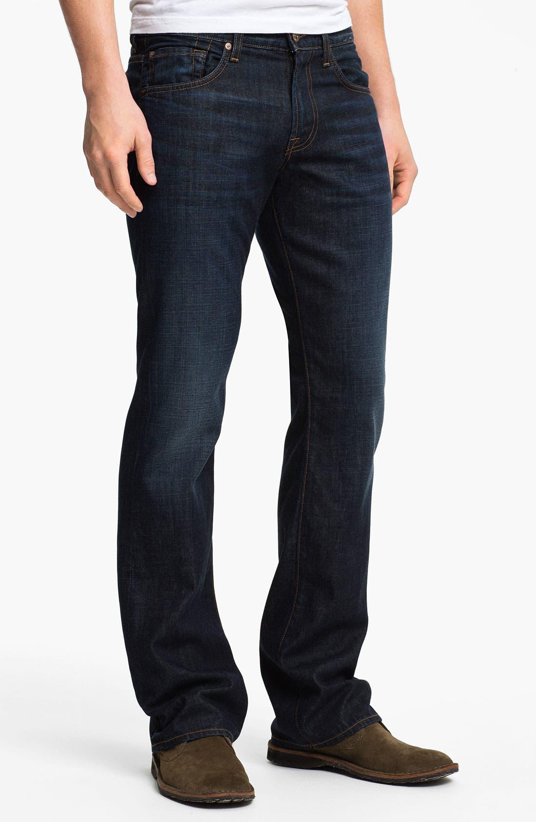 Alternate Image 2  - 7 For All Mankind® 'Brett' Bootcut Jeans (Hollenbeck)