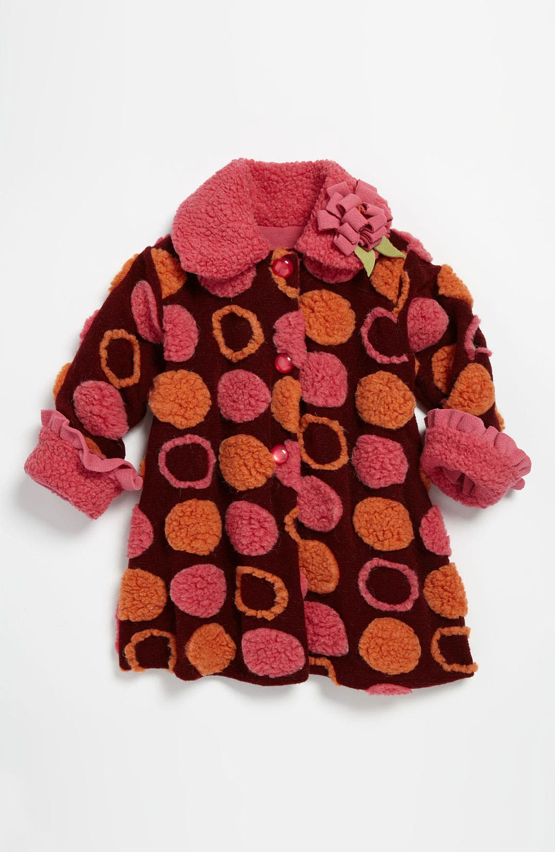 Main Image - Corky & Company 'Connect The Dots' Coat (Little Girls)