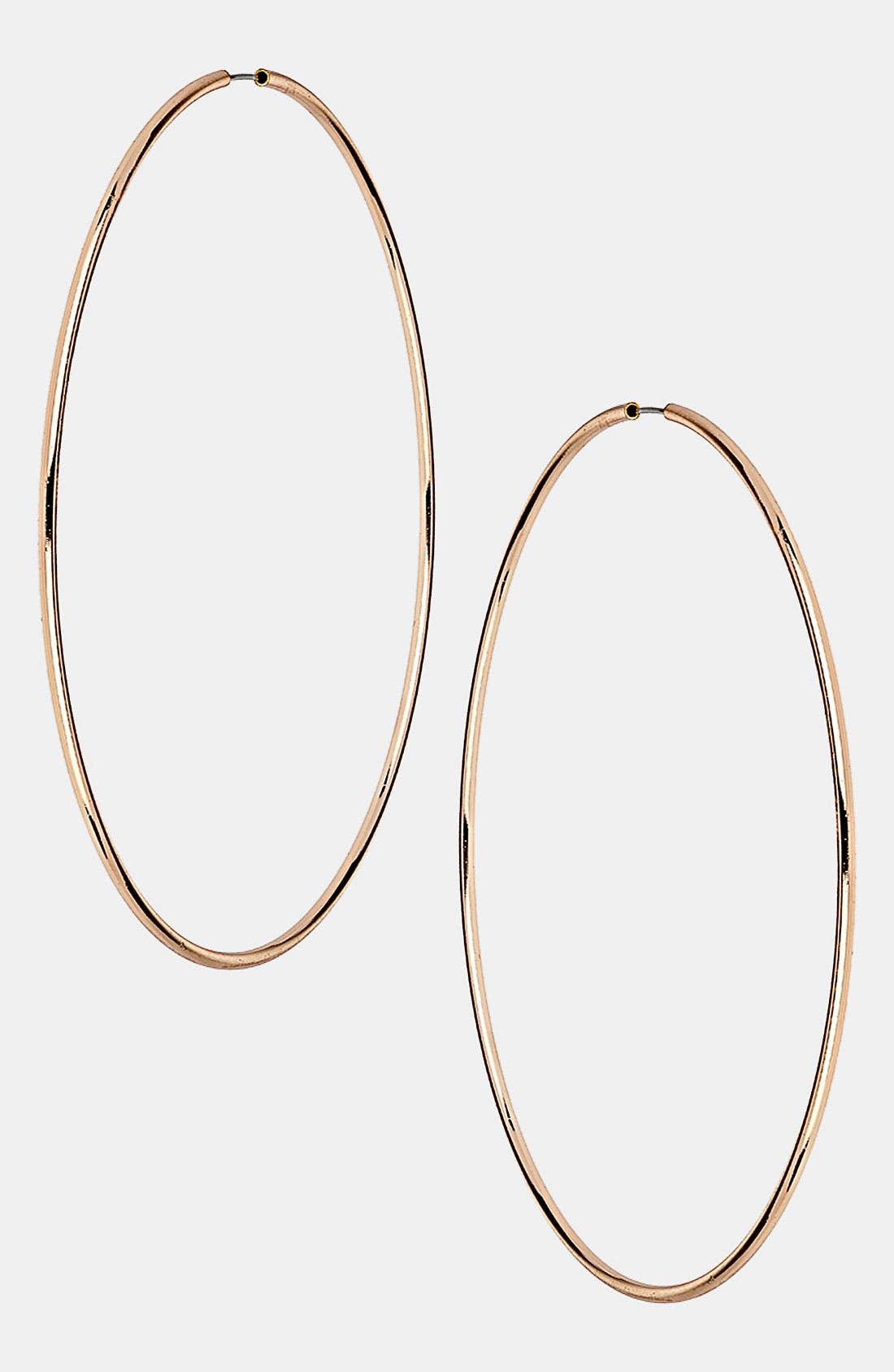 Alternate Image 1 Selected - Topshop Oversized Hoop Earrings