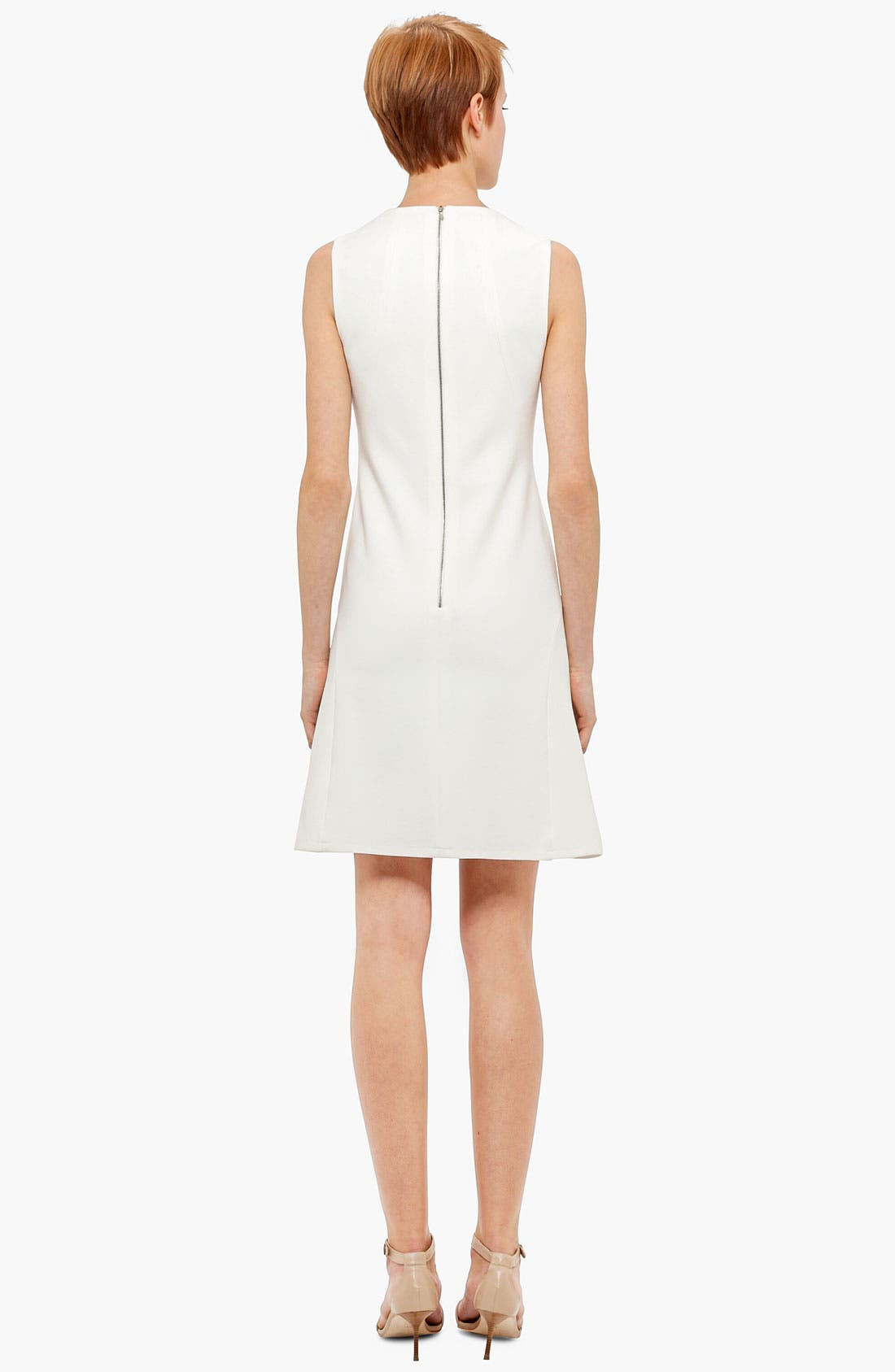 Alternate Image 2  - Akris punto A-Line Jersey Dress