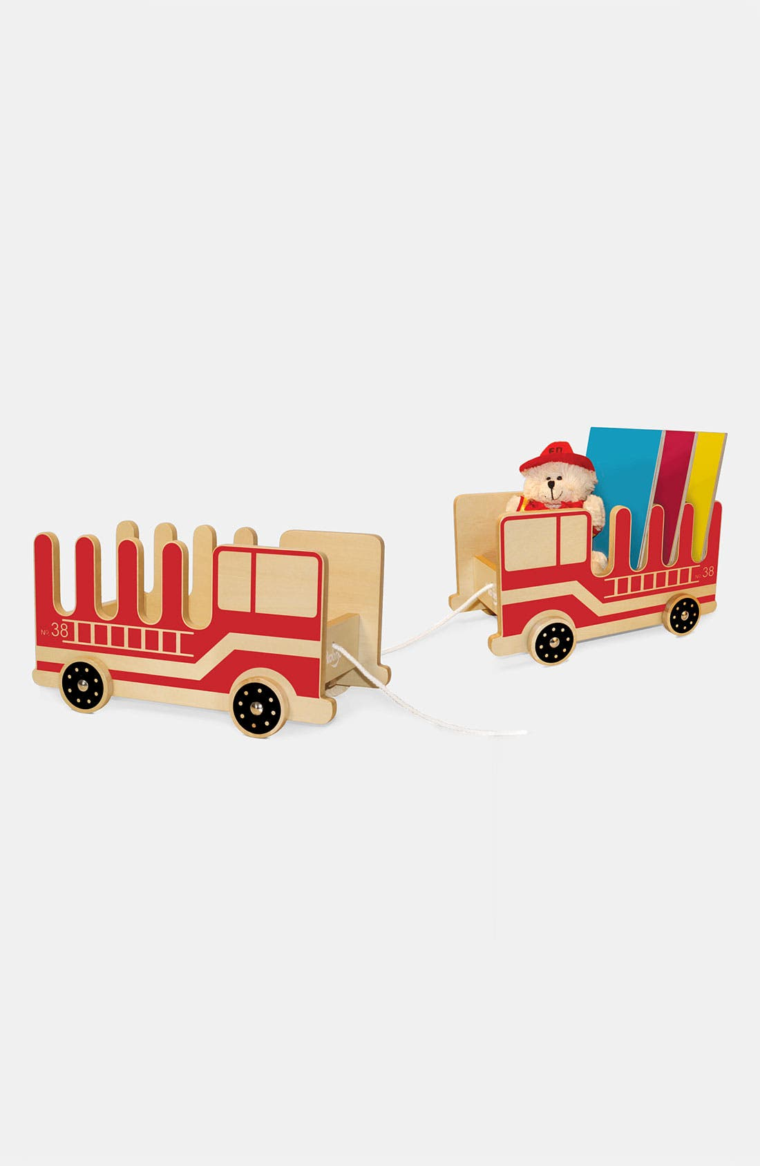 Alternate Image 3  - P'kolino 'Fire Truck' Book Buggy
