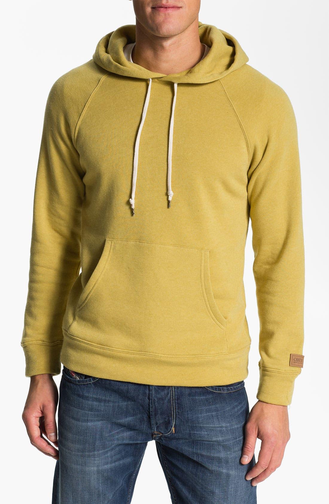 Alternate Image 1 Selected - Obey 'Lofty Creature Comforts' Hooded Sweatshirt