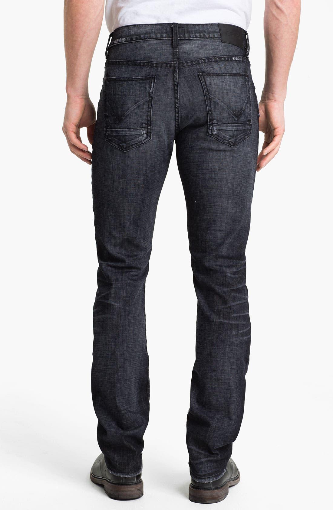 Alternate Image 2  - Hudson Jeans 'Byron' Straight Leg Jeans (Mogul)