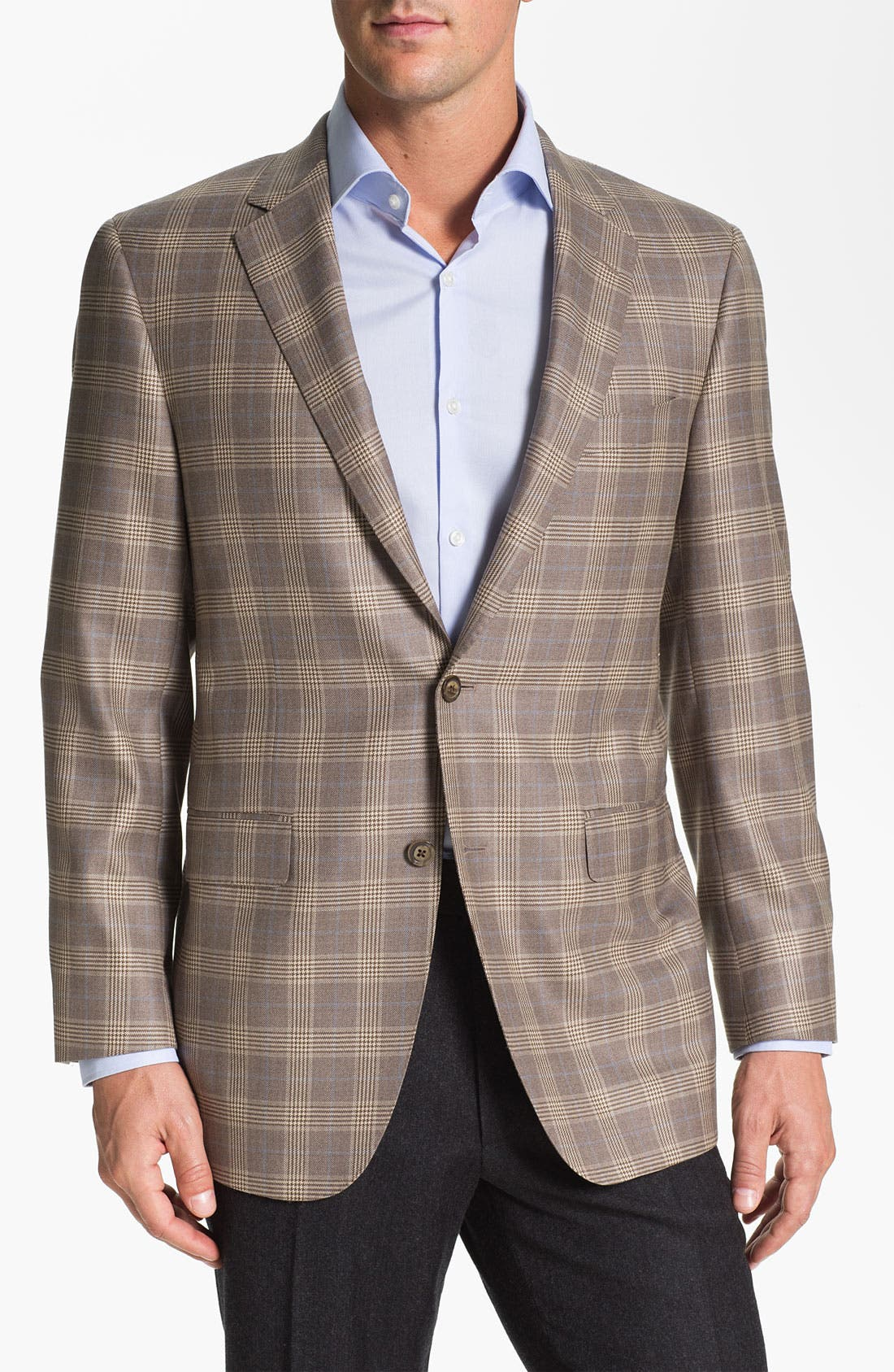 Alternate Image 1 Selected - Samuelsohn Plaid Sportcoat