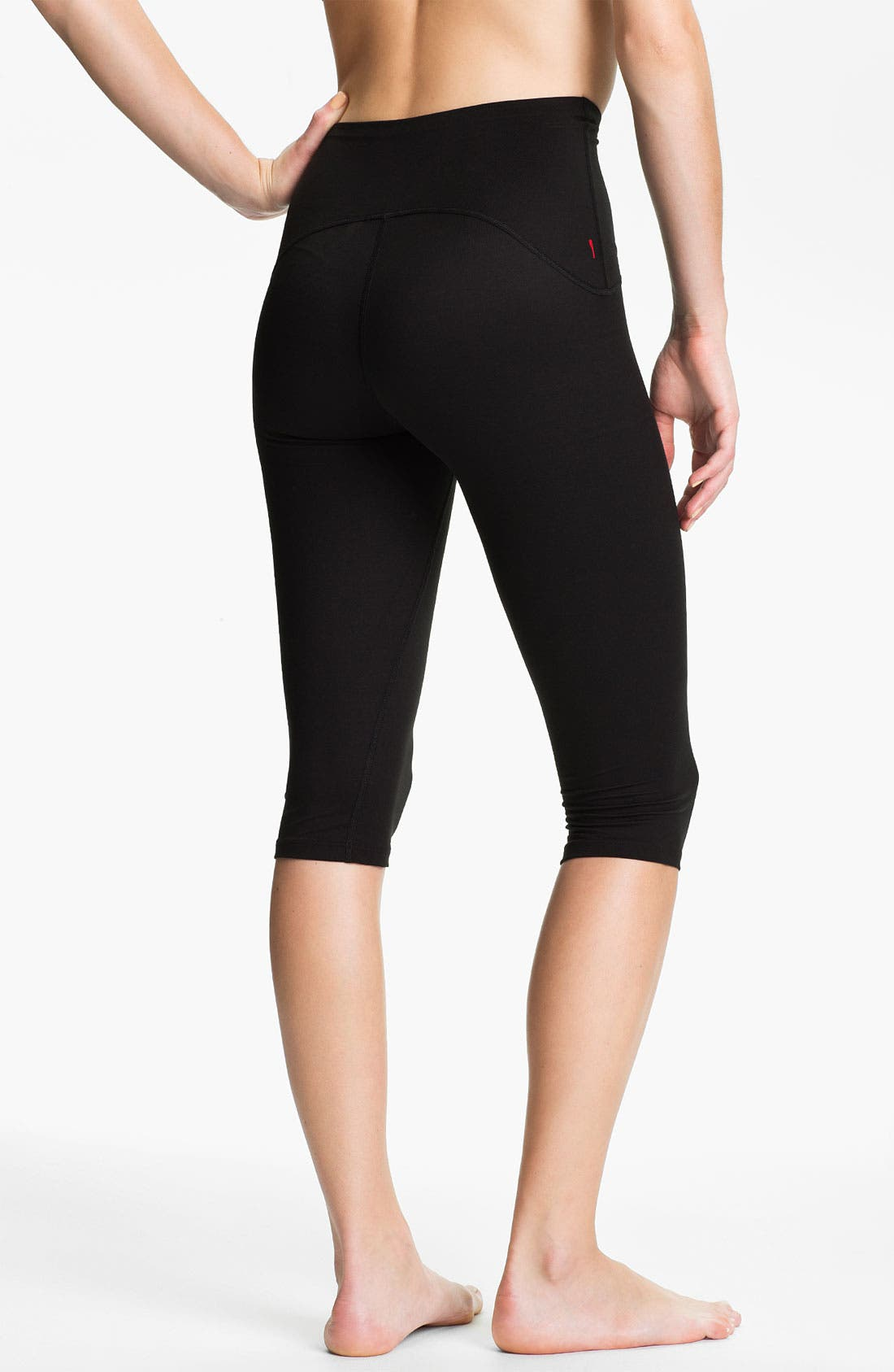 Alternate Image 2  - SPANX® Shaping Compression Knee Workout Pants