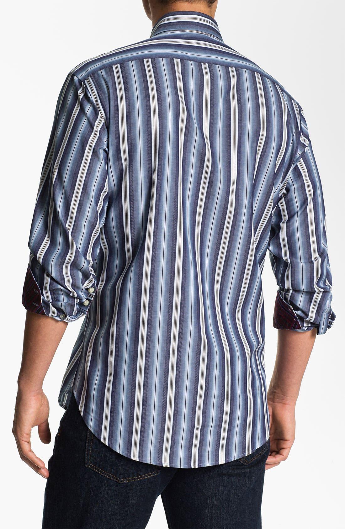 Alternate Image 2  - Thomas Dean Regular Fit Sport Shirt
