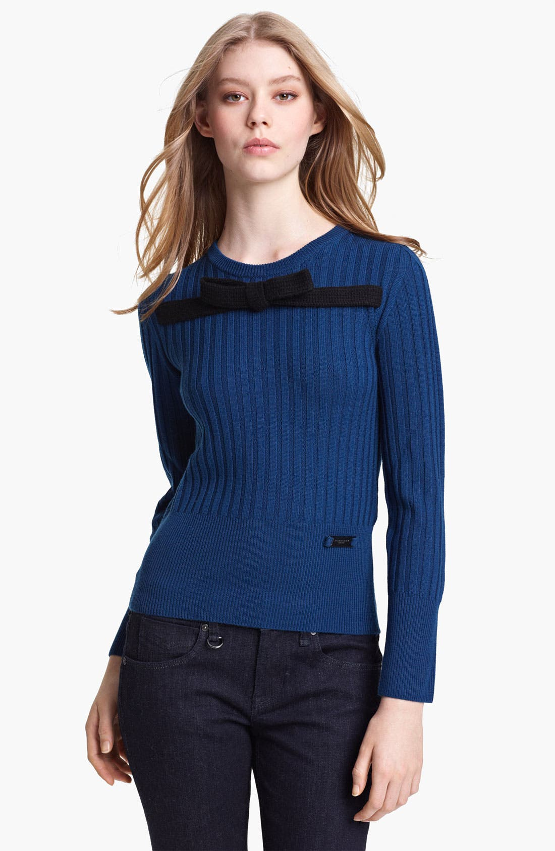 Alternate Image 1 Selected - Burberry Brit Wool Sweater (Online Exclusive)
