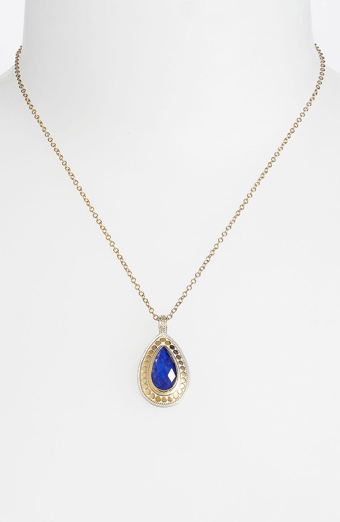 Alternate Image 1 Selected - Anna Beck 'Gili' Wire Rimmed Teardrop Pendant Necklace (Nordstrom Exclusive)