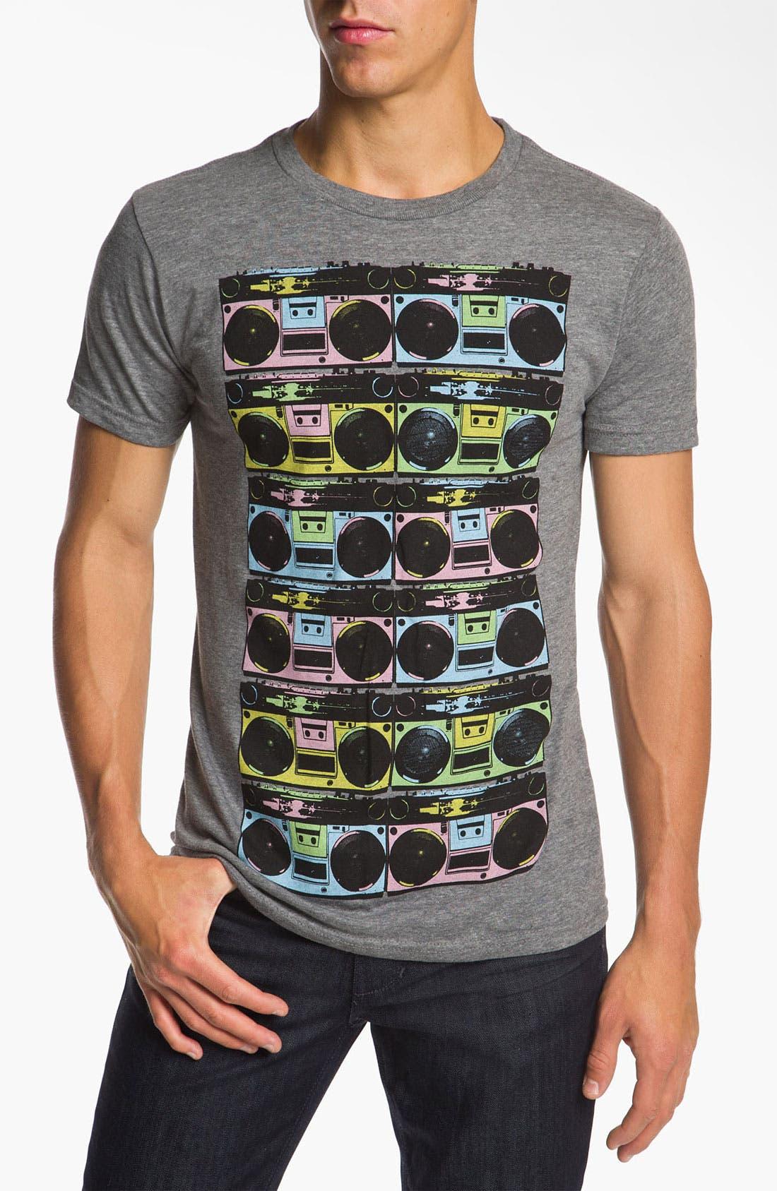 Alternate Image 1 Selected - RKBLK 'Boom Box' T-Shirt