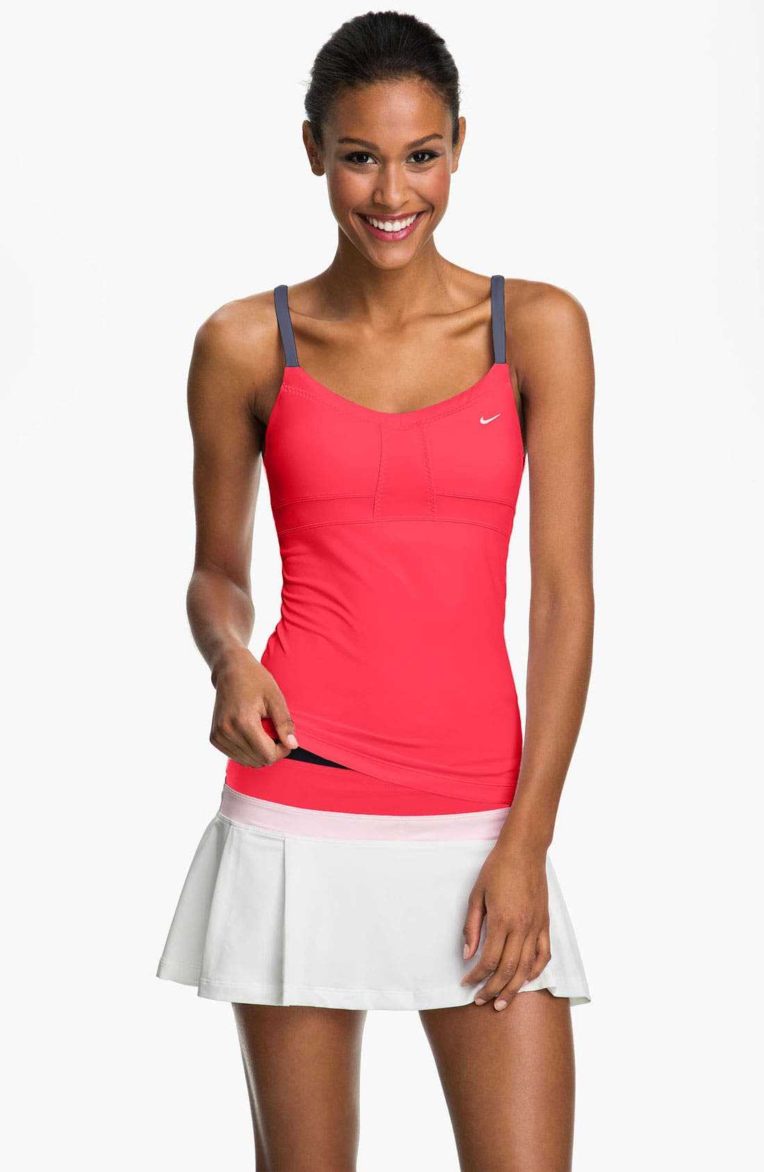 Alternate Image 1 Selected - Nike Strappy Dri-FIT Tank