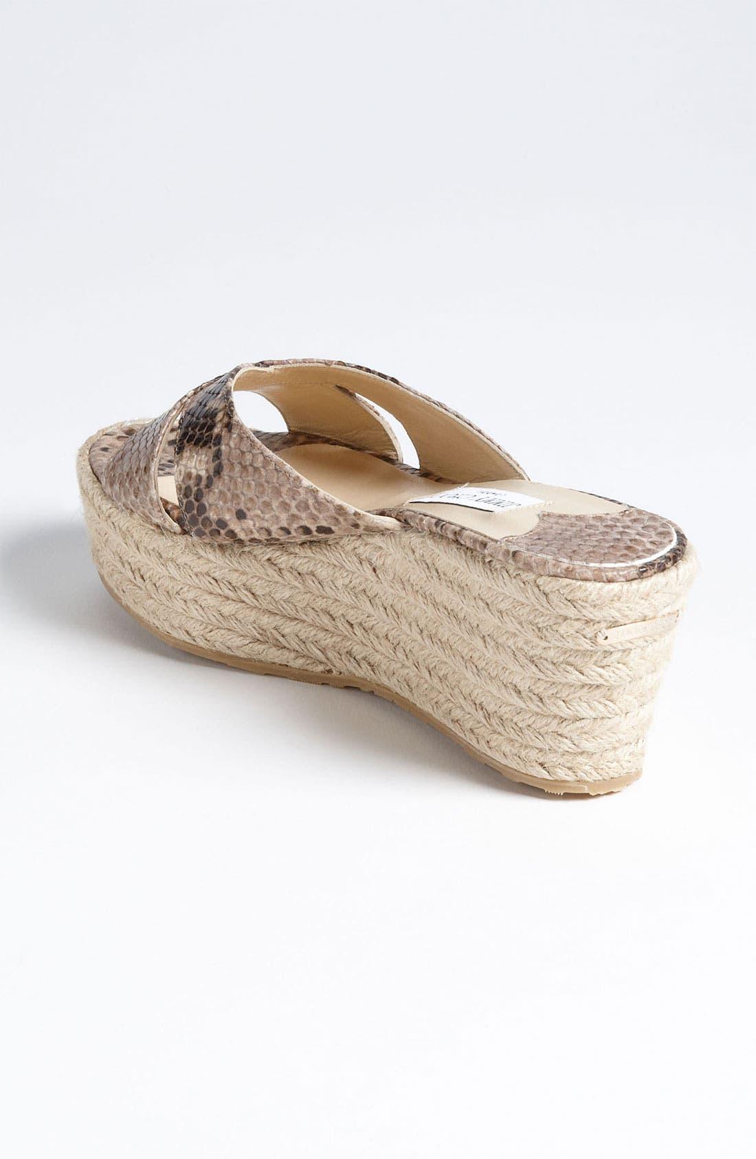 Alternate Image 2  - Jimmy Choo 'Paisley' Wedge Sandal