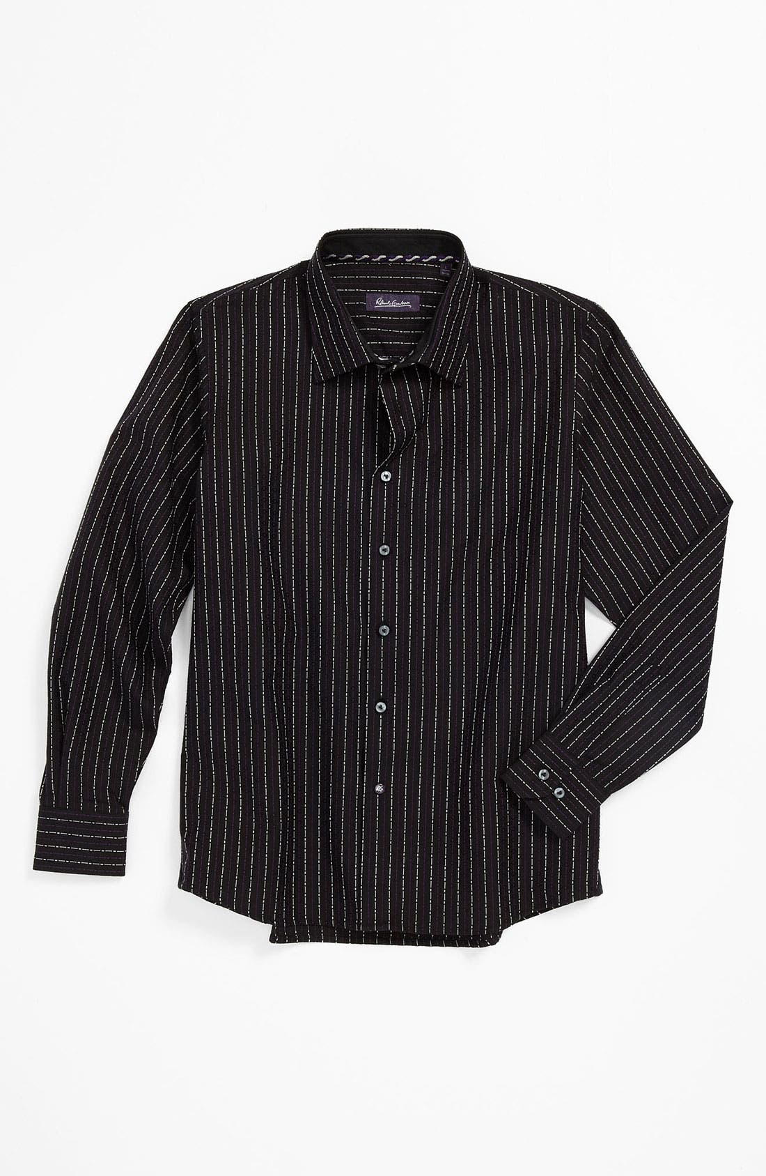 Main Image - Robert Graham 'Matt' Dress Shirt (Big Boys)
