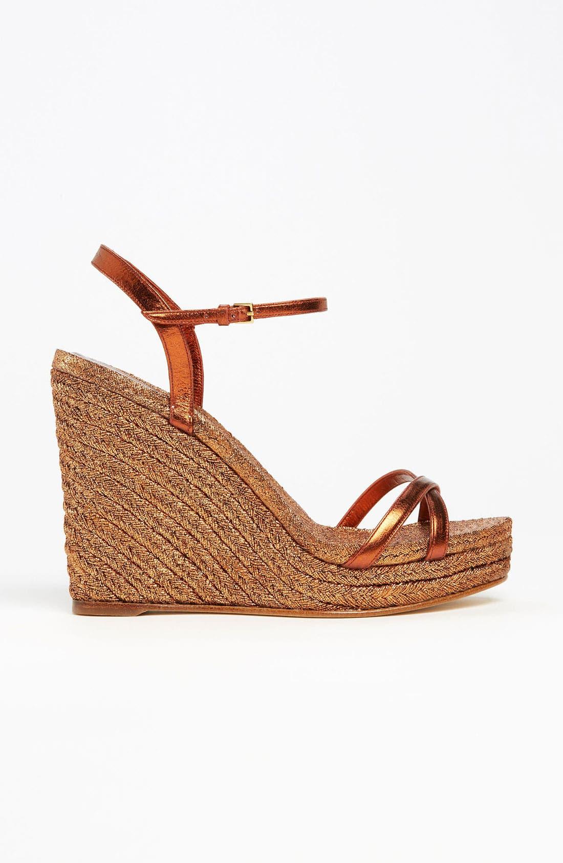 Alternate Image 4  - Gucci 'Lia' Espadrille Sandal