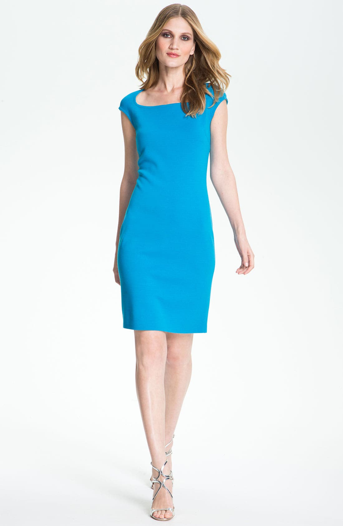 Alternate Image 1 Selected - St. John Collection Milano Knit Sheath Dress