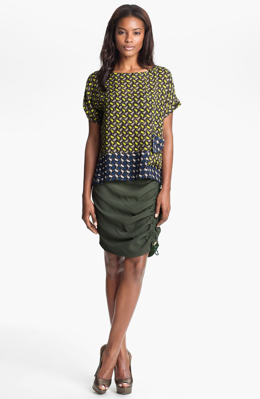 Alternate Image 1 Selected - KENZO Tunic Top & Skirt
