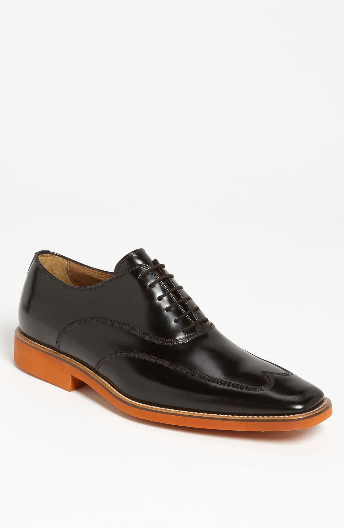 Alternate Image 1 Selected - Michael Toschi 'Luciano' Patent Leather Wingtip