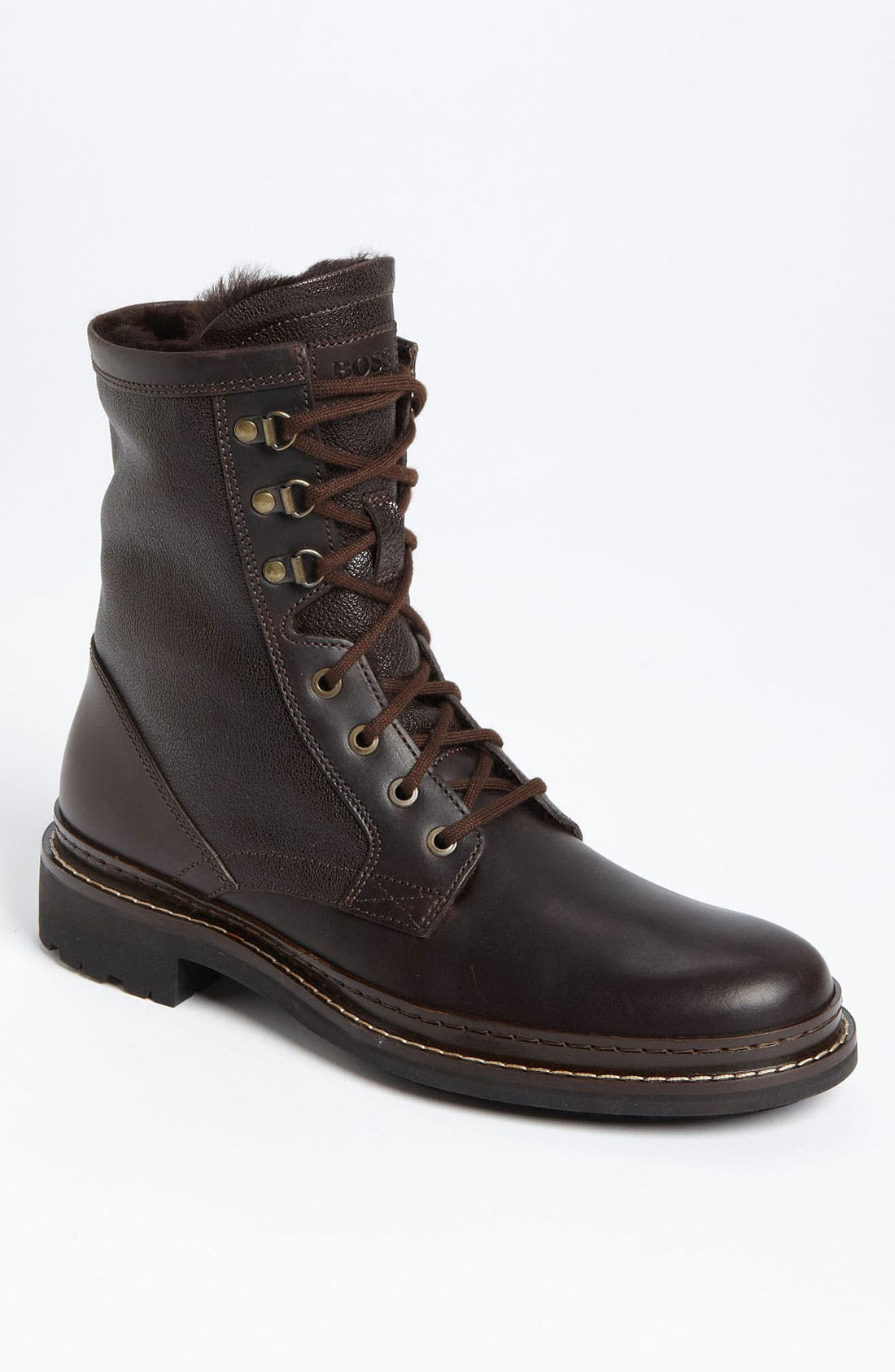 Alternate Image 1 Selected - BOSS Black 'Russon' Plain Toe Boot