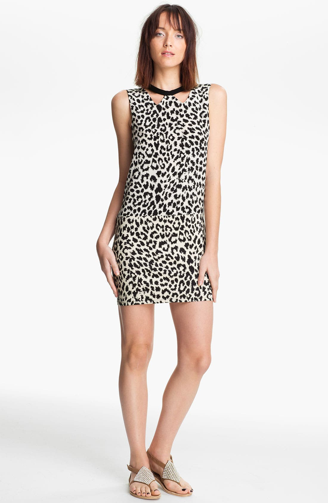 Alternate Image 1 Selected - Thakoon Addition Leopard Print Dress