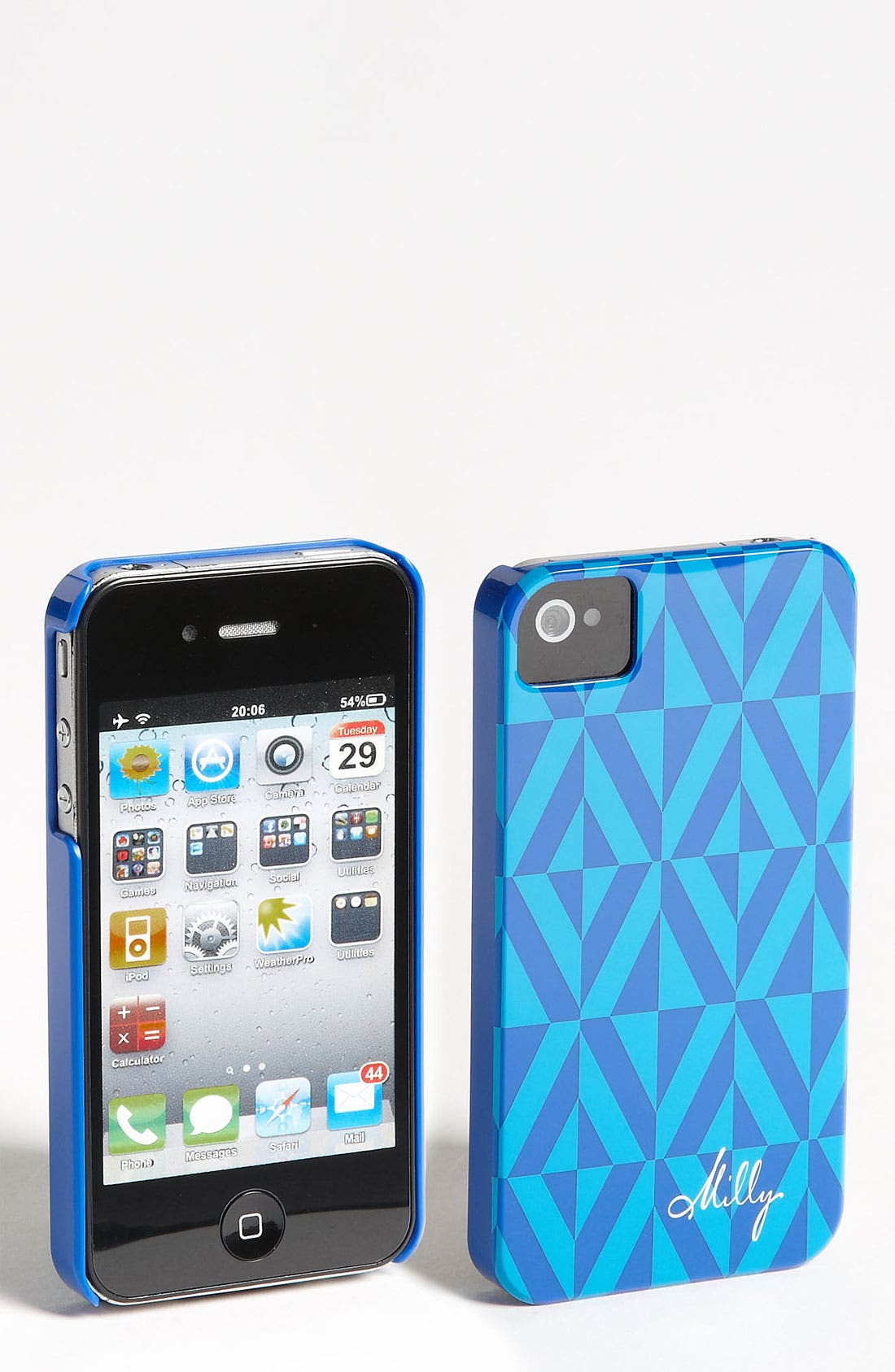 Main Image - Milly Geo Print iPhone 4 & 4S Case