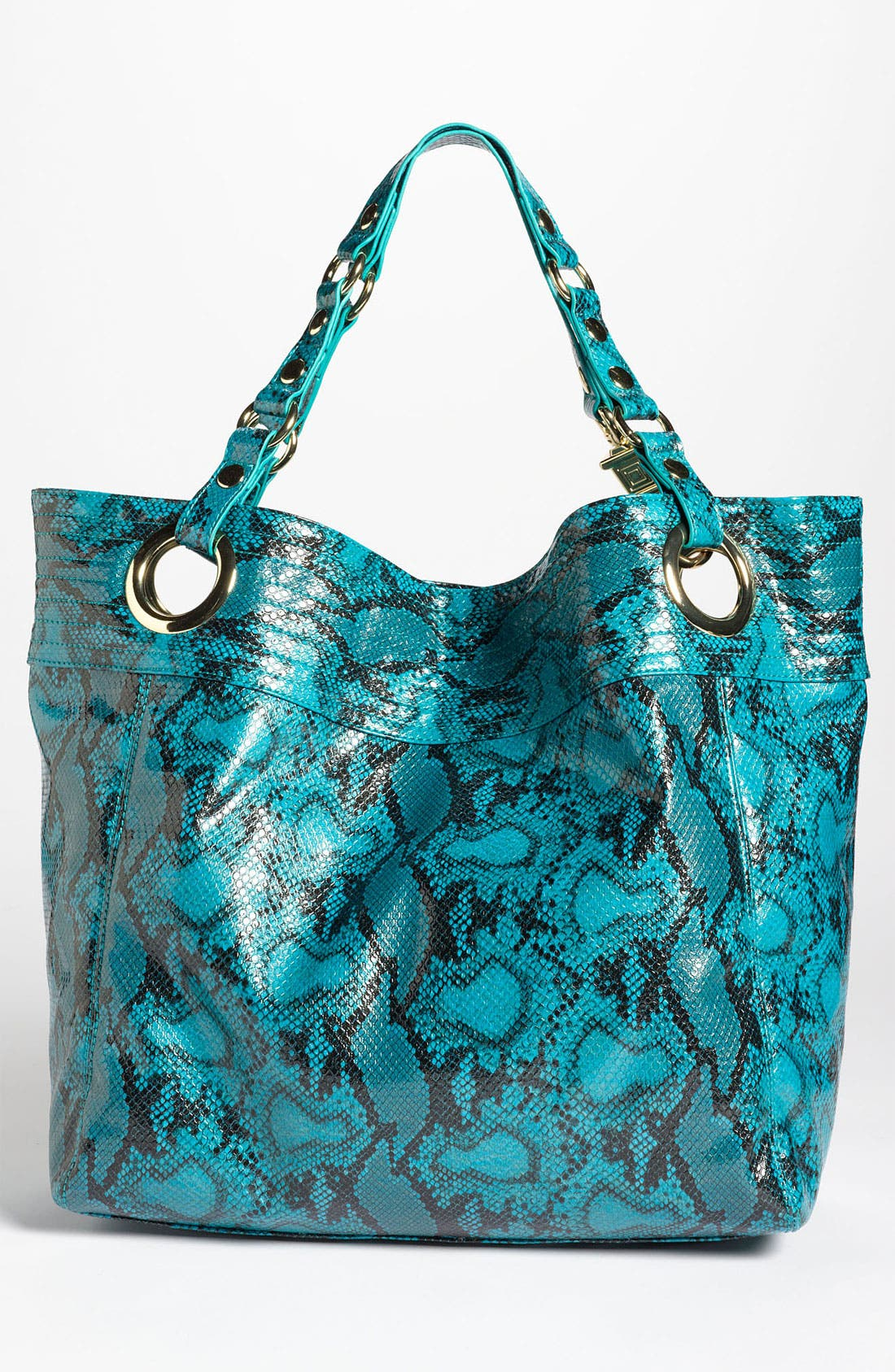 Alternate Image 4  - Steven by Steve Madden 'Candy Coated' Snake Embossed Tote
