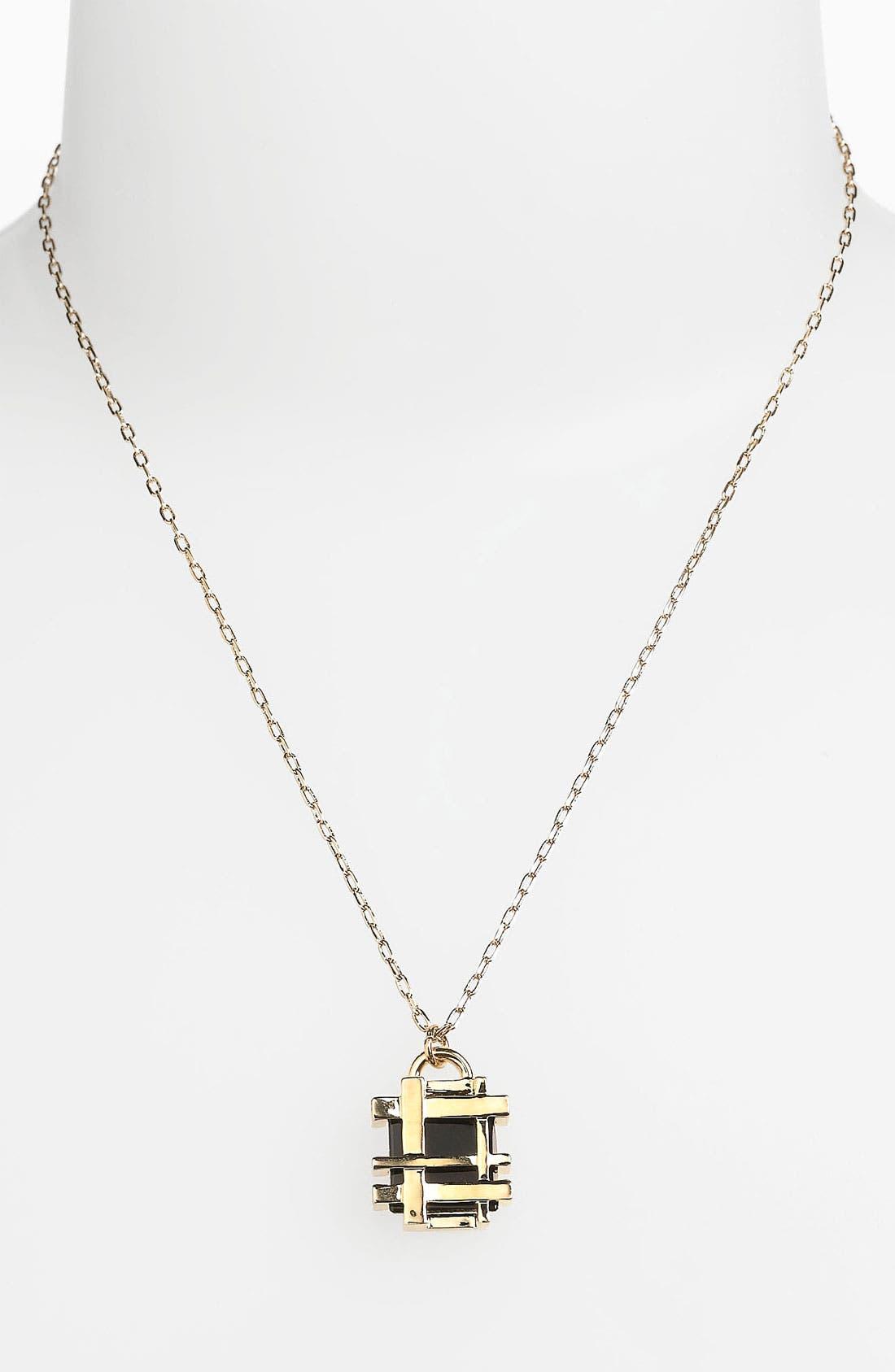 Alternate Image 1 Selected - Tory Burch 'Mini' Pendant Necklace