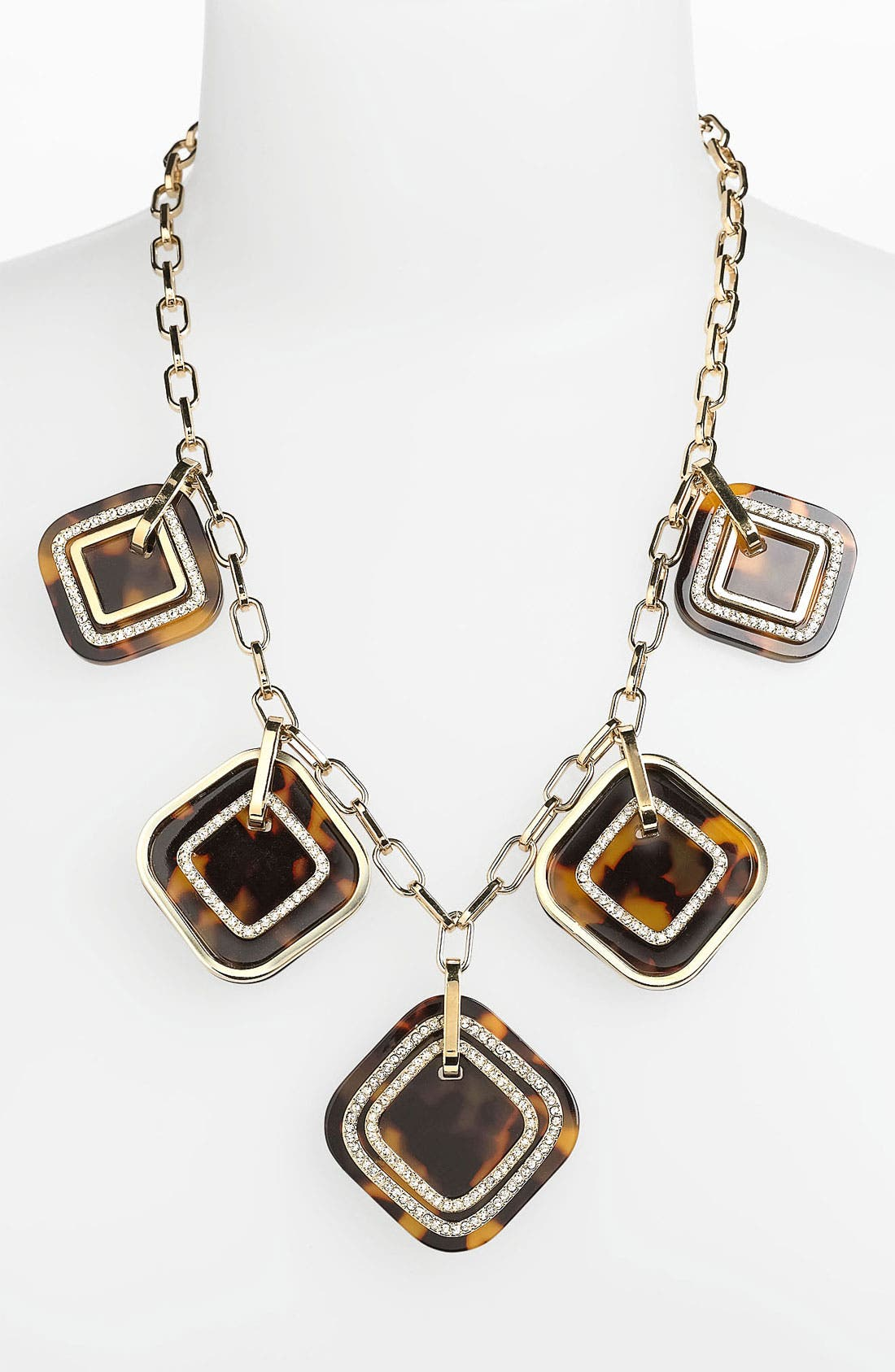 Main Image - Tory Burch 'McCoy' Frontal Necklace