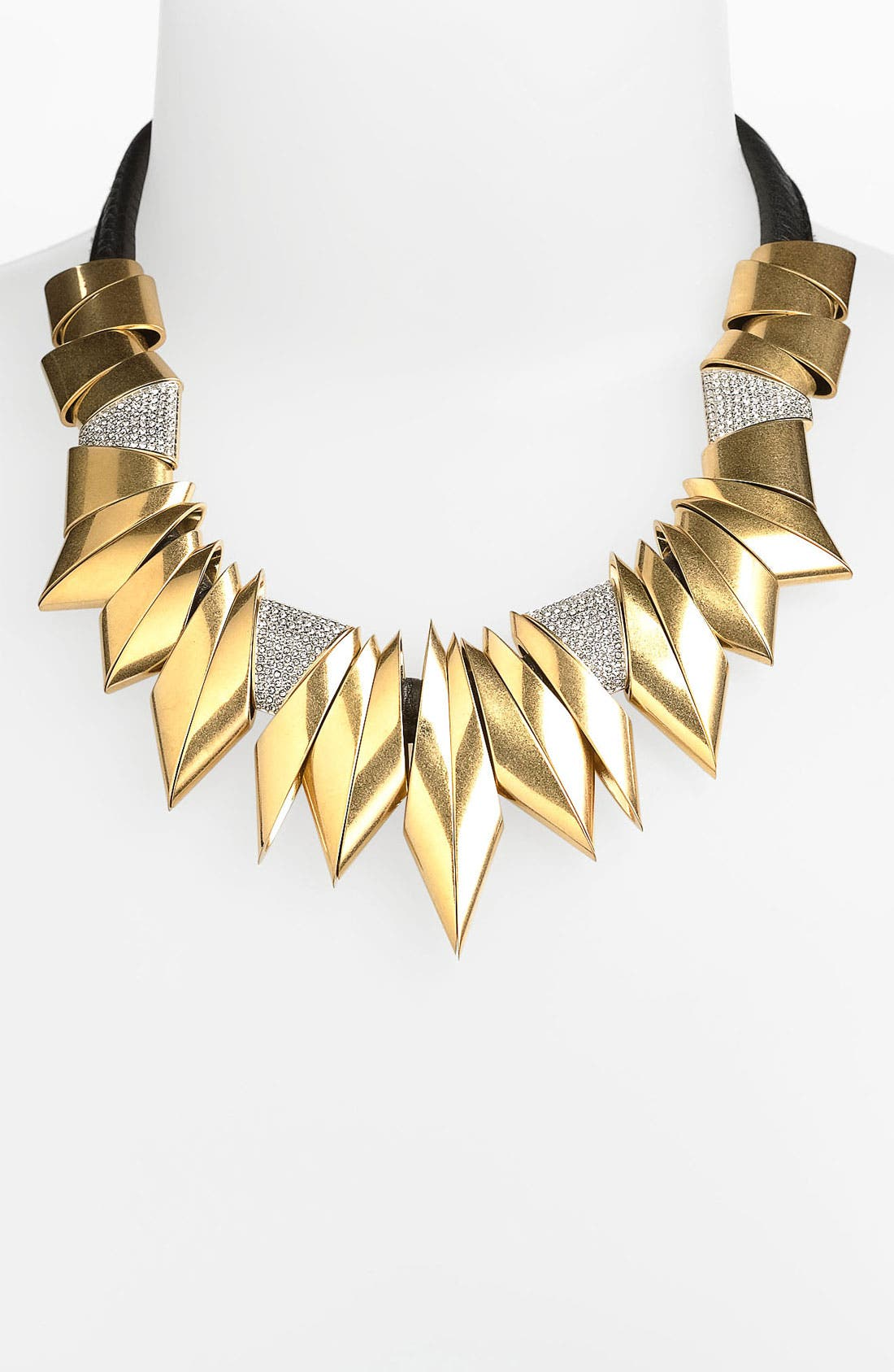 Main Image - Juicy Couture 'Heavy Metal' Angular Collar Necklace