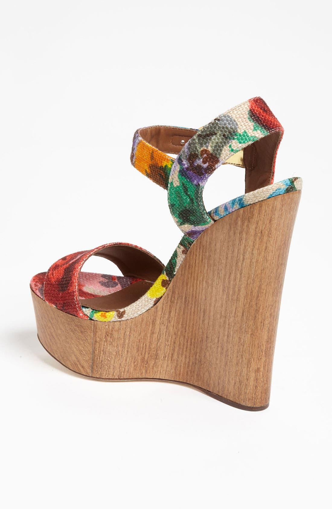 Alternate Image 2  - Dolce&Gabbana Floral Sandal