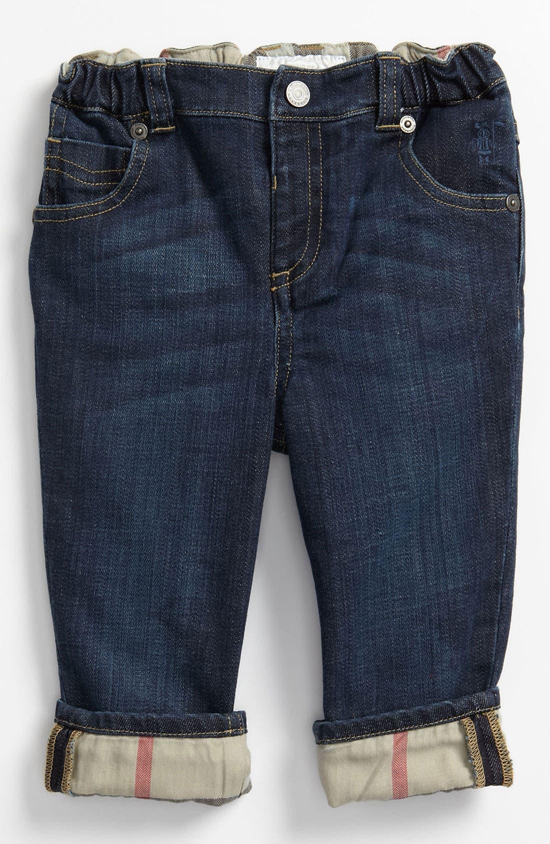 Alternate Image 2  - Burberry Straight Leg Jeans (Toddler)