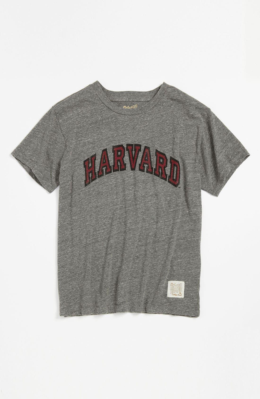 Alternate Image 1 Selected - Retro Brand 'Harvard' T-Shirt (Big Boys)