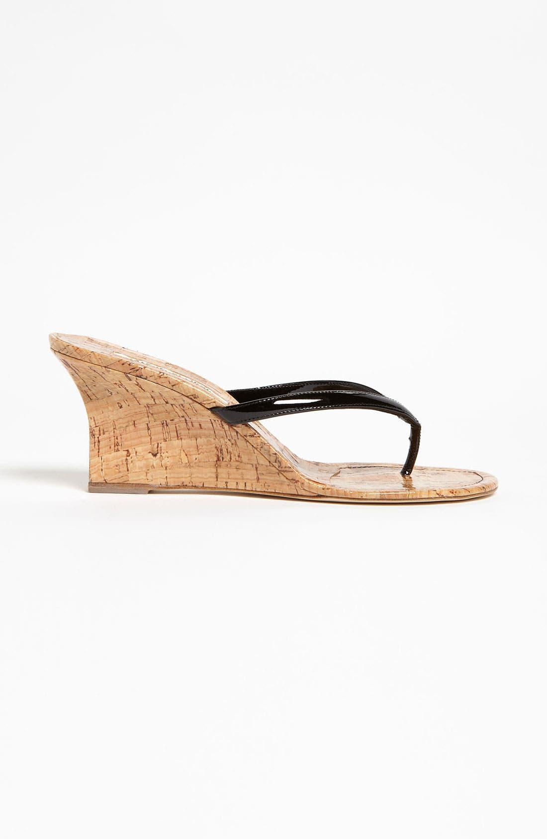 Alternate Image 4  - Manolo Blahnik 'Patwedge' Sandal