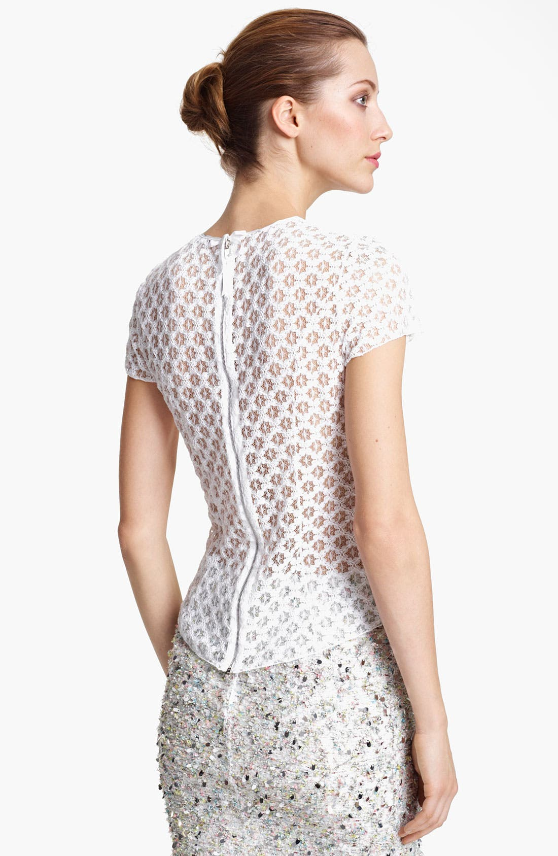 Alternate Image 2  - Nina Ricci Lace Tee