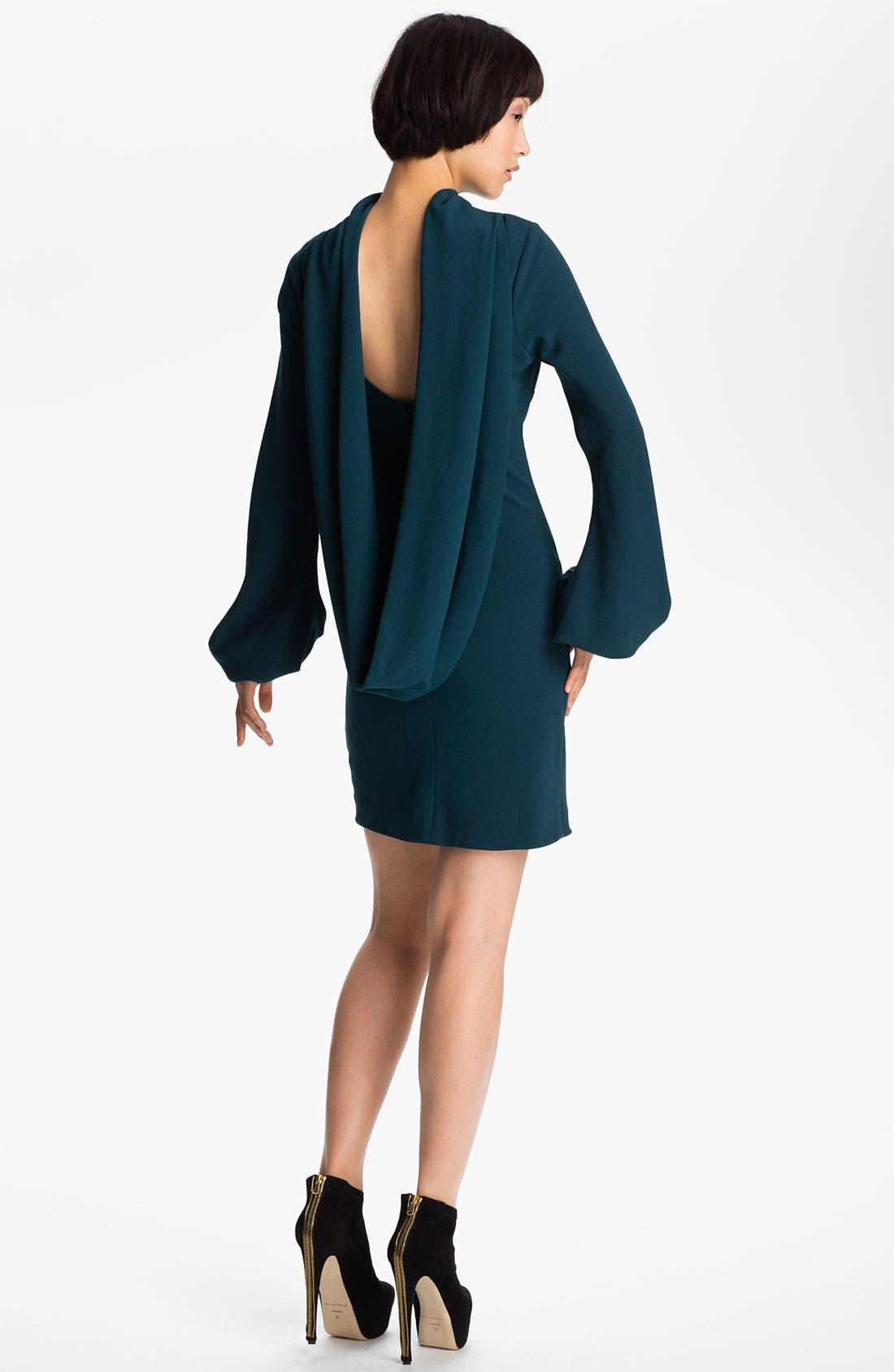 Alternate Image 2  - Skaist-Taylor 'Laura' Drape Back Crepe Dress