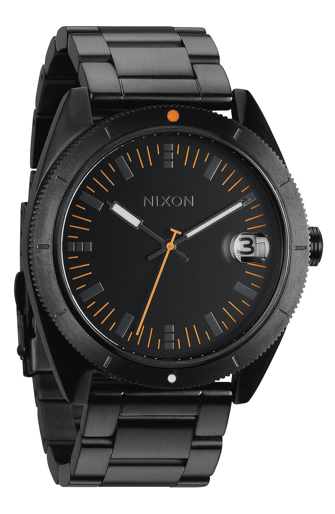 Alternate Image 1 Selected - Nixon 'The Rover' Bracelet Watch, 42mm