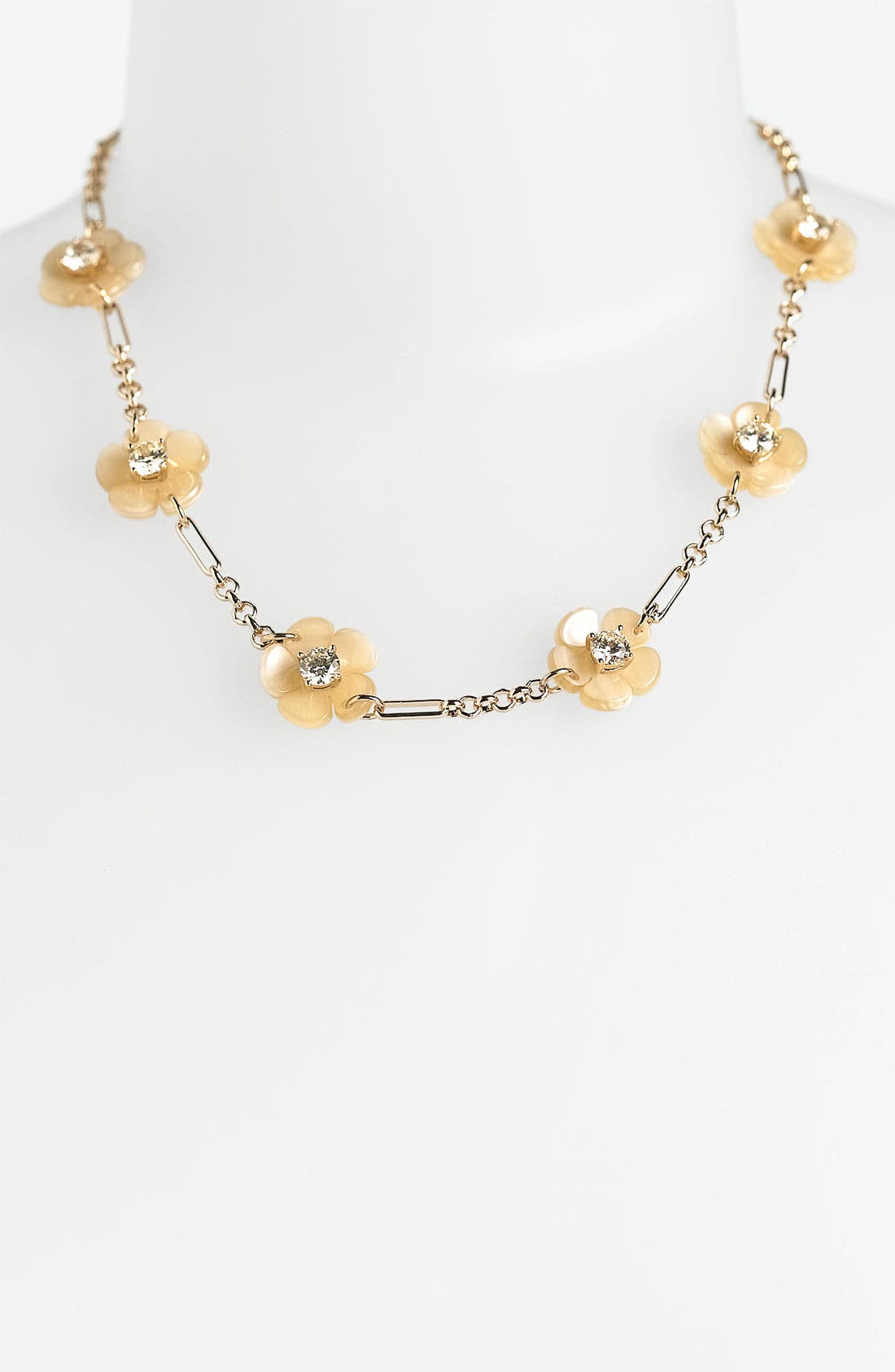 Alternate Image 1 Selected - Tory Burch 'Flora' Station Necklace