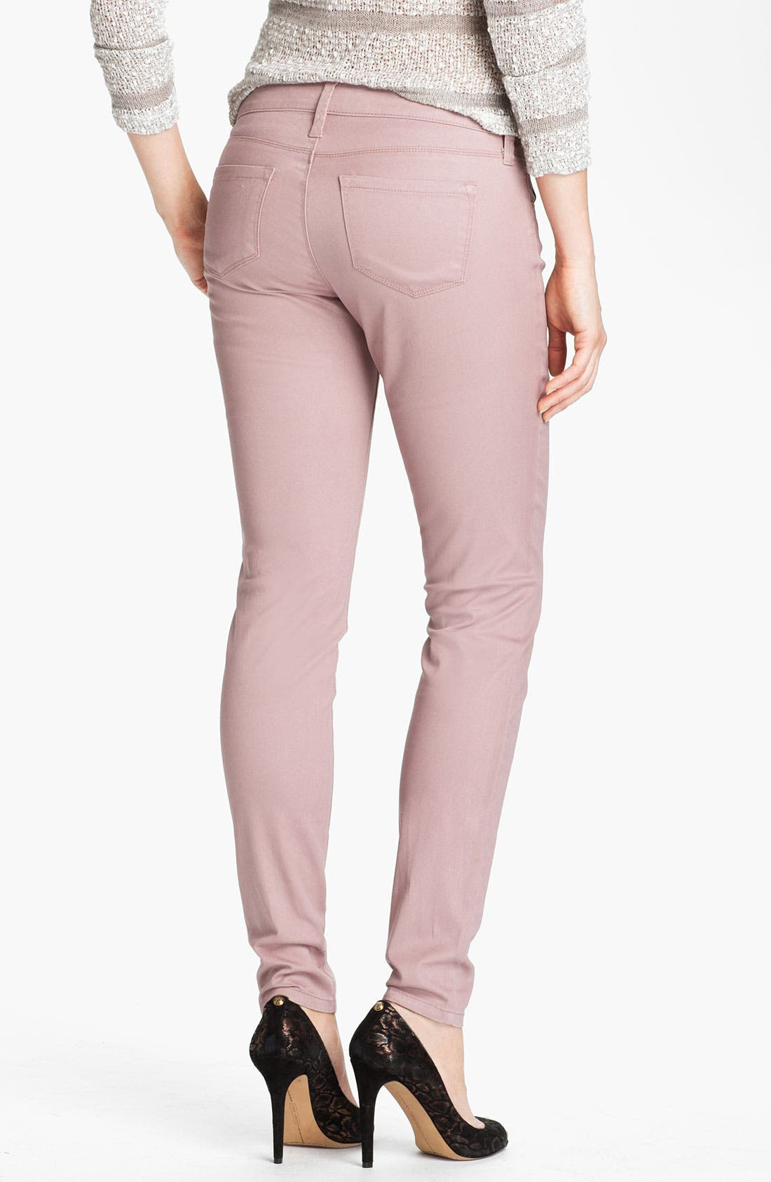 Alternate Image 2  - KUT from the Kloth 'Jennifer' Skinny Stretch Jeans (Rose) (Online Exclusive)