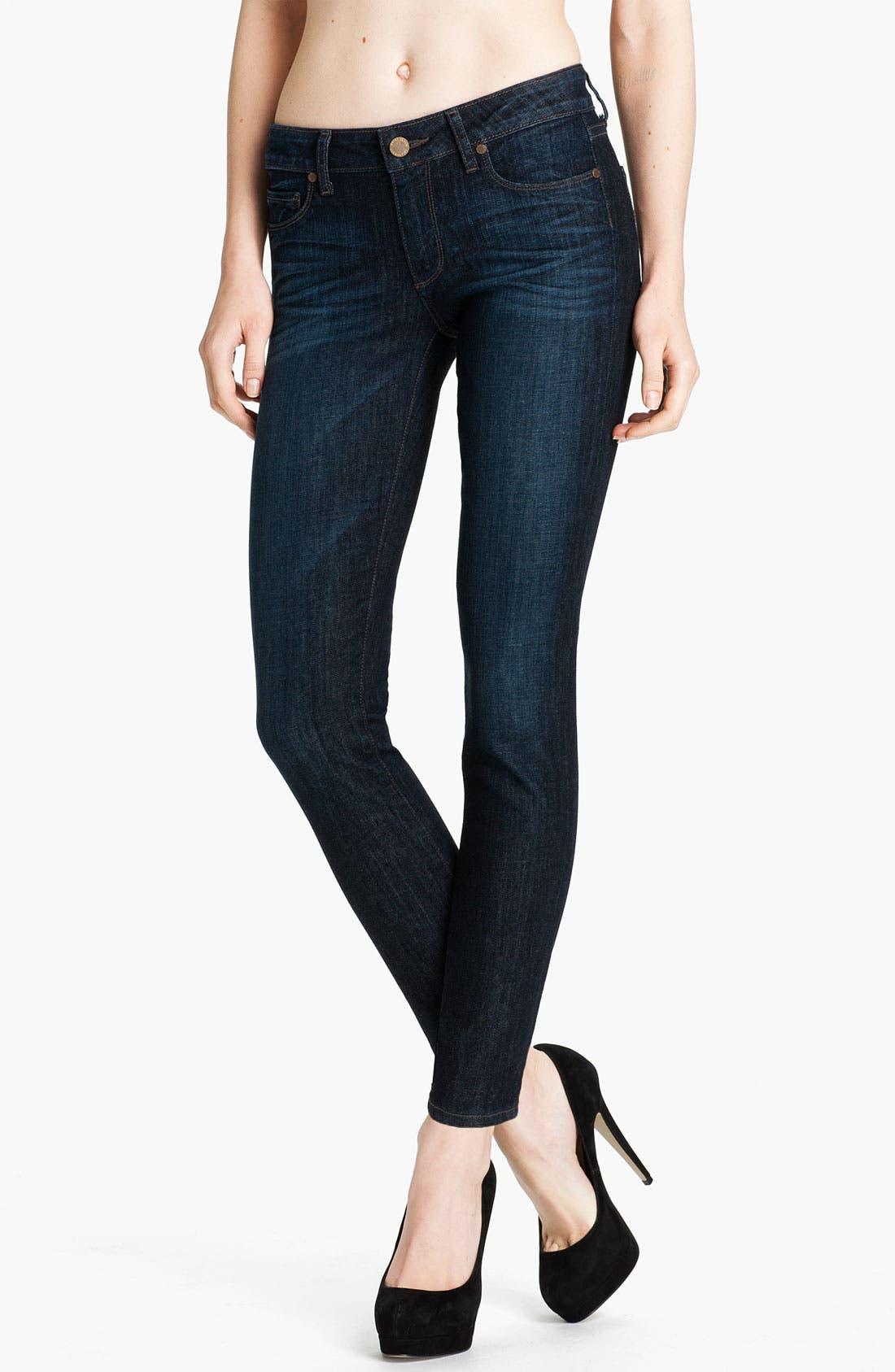 Main Image - Paige Denim 'Skyline' Ankle Peg Skinny Stretch Jeans (Hartley)