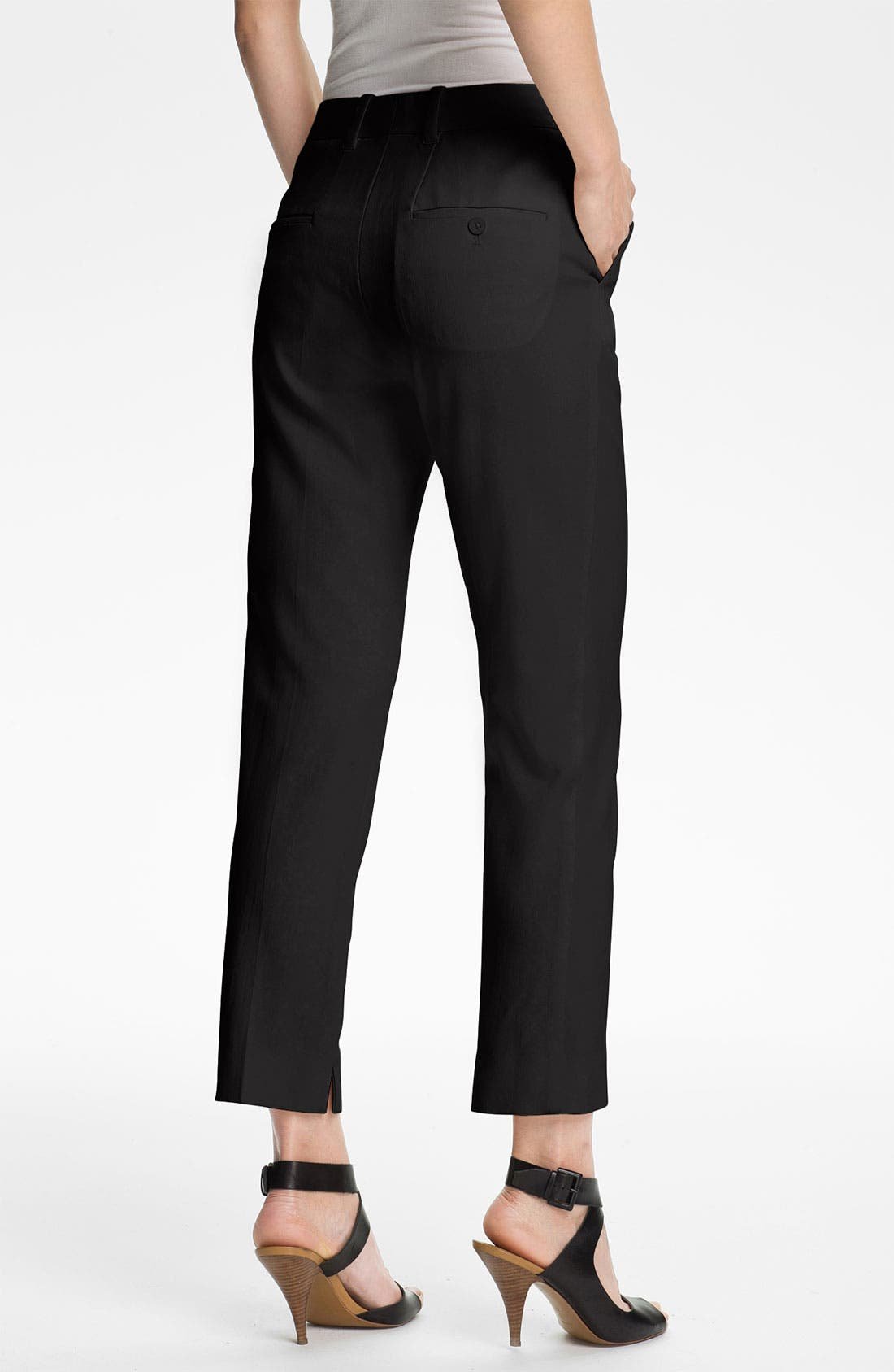 Alternate Image 2  - 3.1 Phillip Lim Crop Stretch Wool Trousers