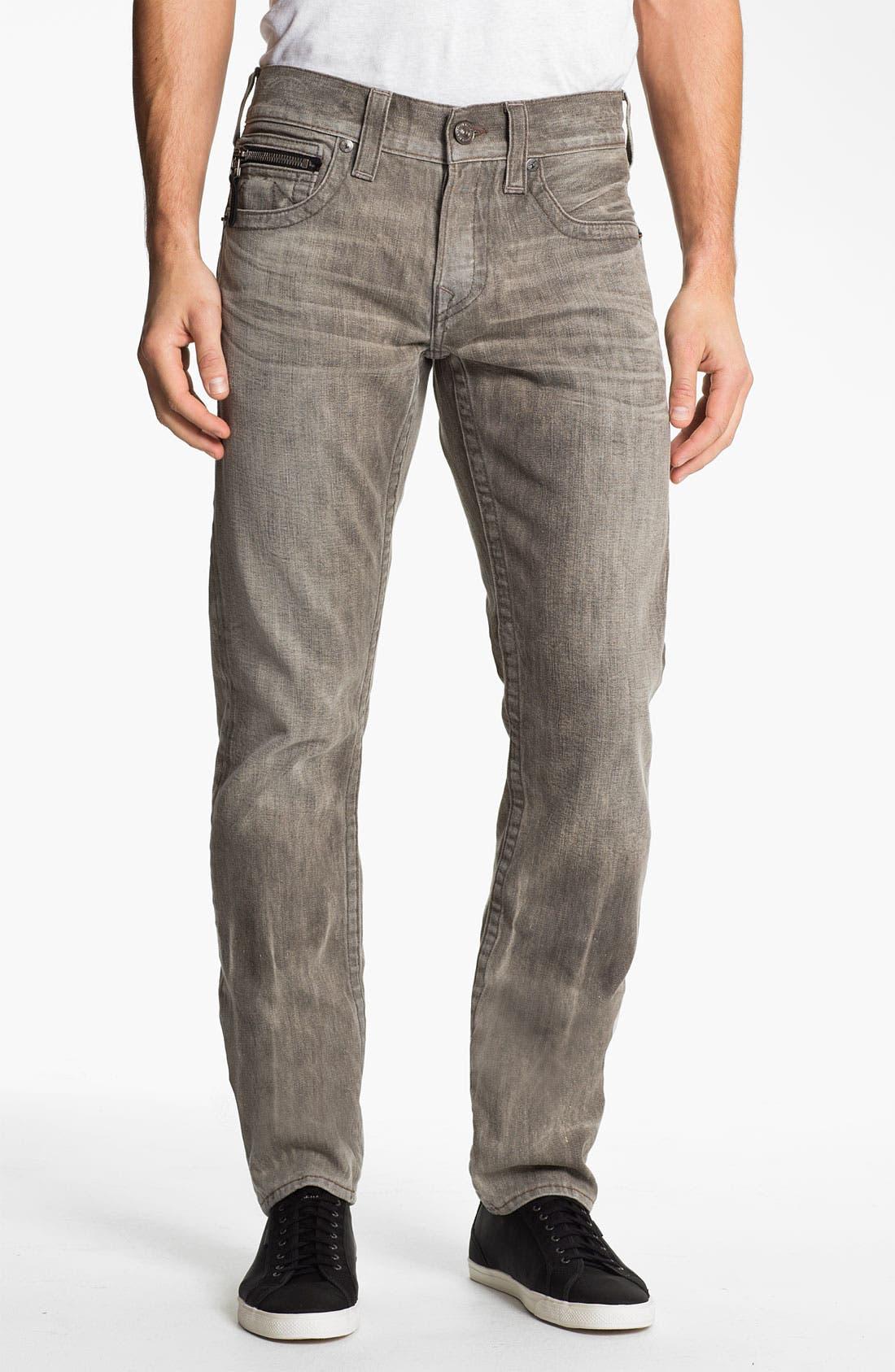 Alternate Image 2  - True Religion Brand Jeans 'Rocco' Slim Straight Leg Jeans (Ashland) (Online Exclusive)