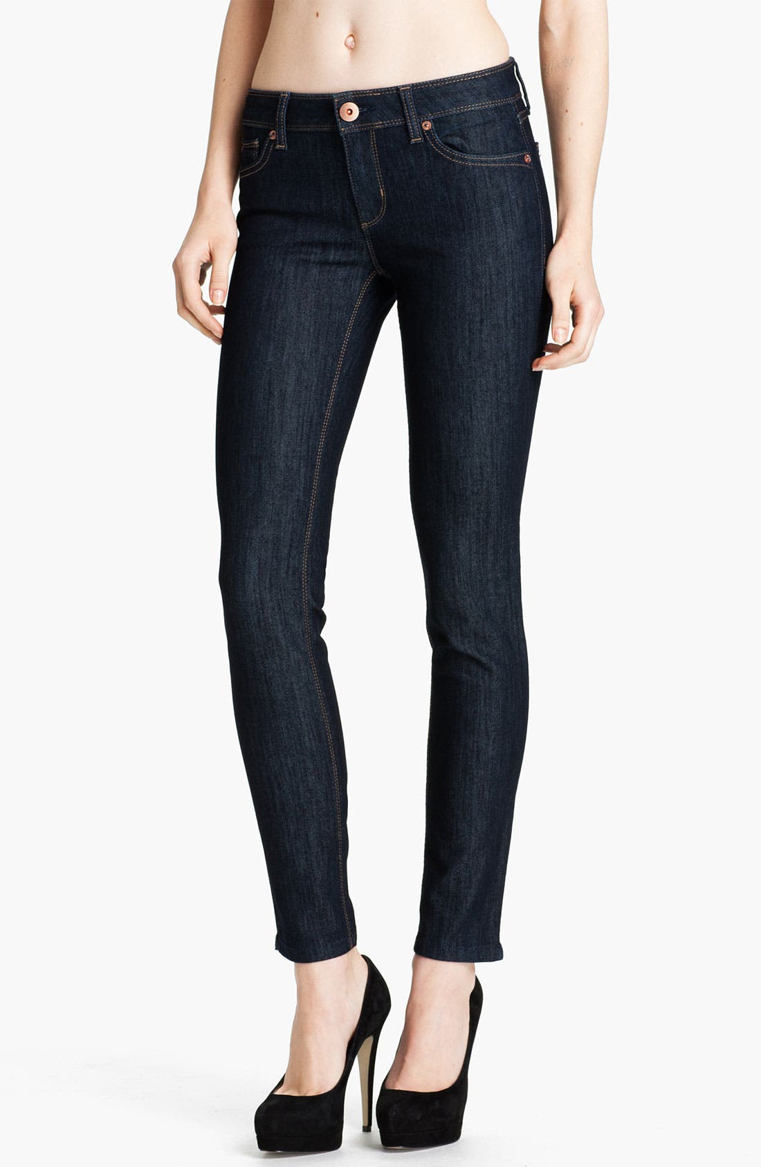 Main Image - DL1961 'Angel' Skinny Ankle Jeans (Crush)