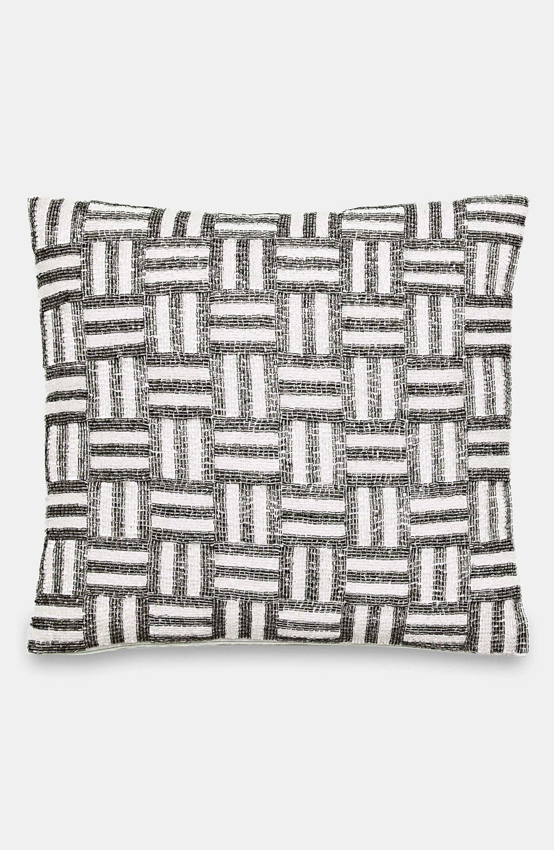 Alternate Image 1 Selected - kate spade new york bugle bead pillow