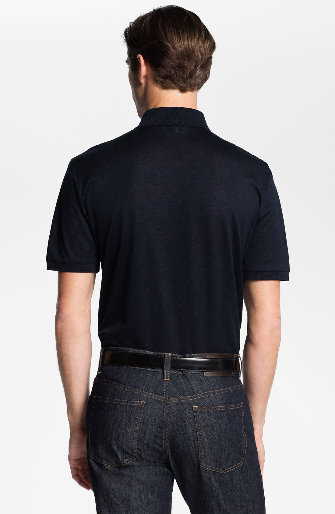 Alternate Image 2  - Salvatore Ferragamo Trim Fit Polo