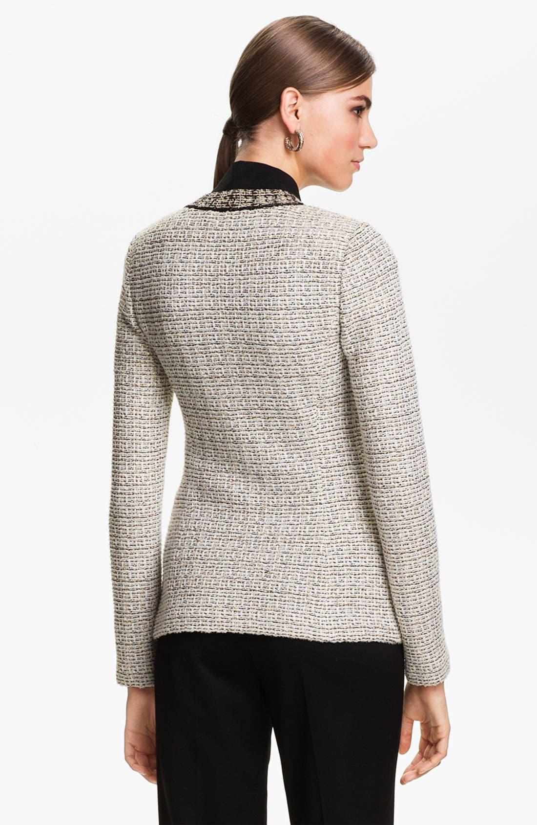 Alternate Image 4  - St. John Collection Venezia Tweed Knit Jacket