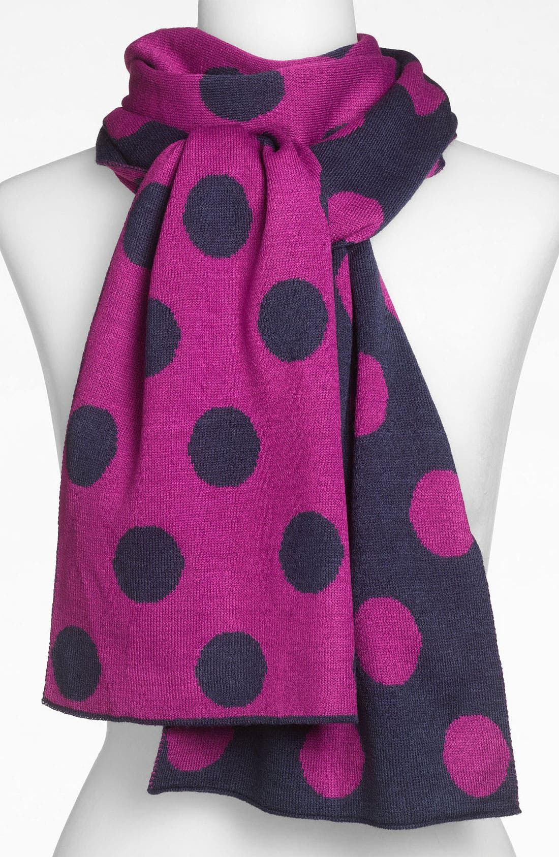 Alternate Image 1 Selected - Halogen® Polka Dot Scarf