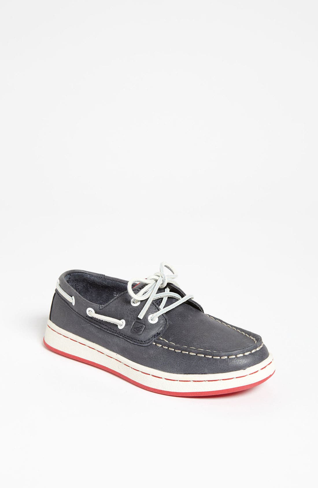 Alternate Image 1 Selected - Sperry Top-Sider® 'Cupsole' Boat Shoe (Toddler, Little Kid & Big Kid)